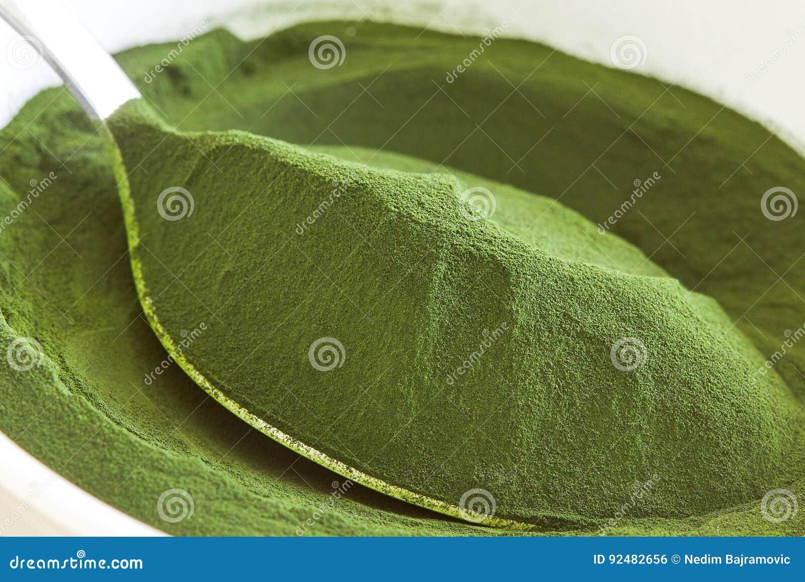 Chlorella alg proszek