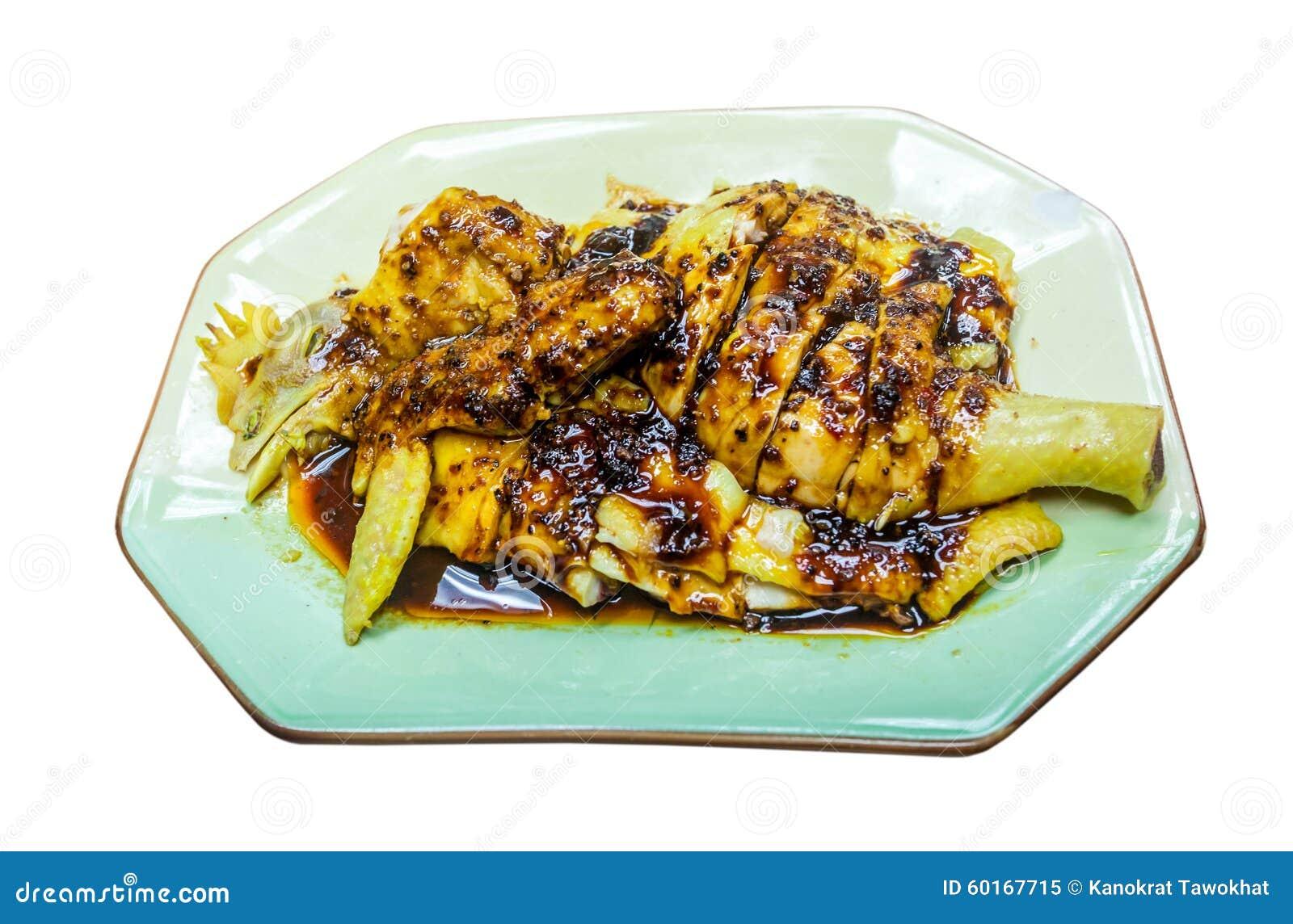 Chmielny kurczak, Chiński jedzenie