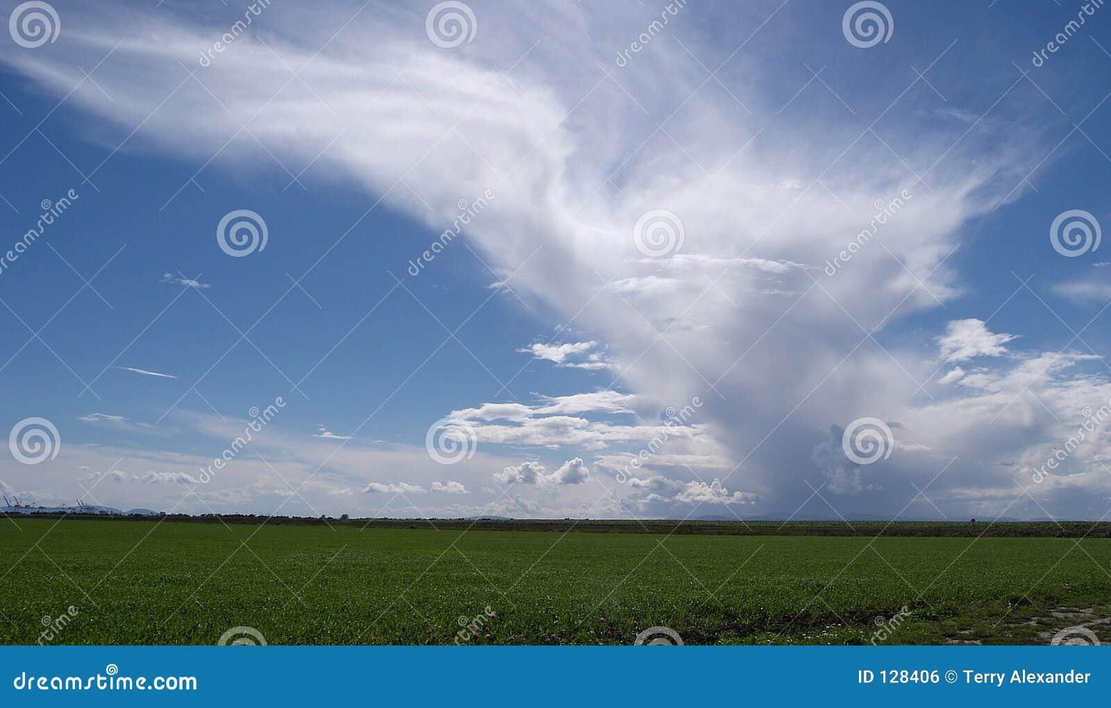 Chmura niebo
