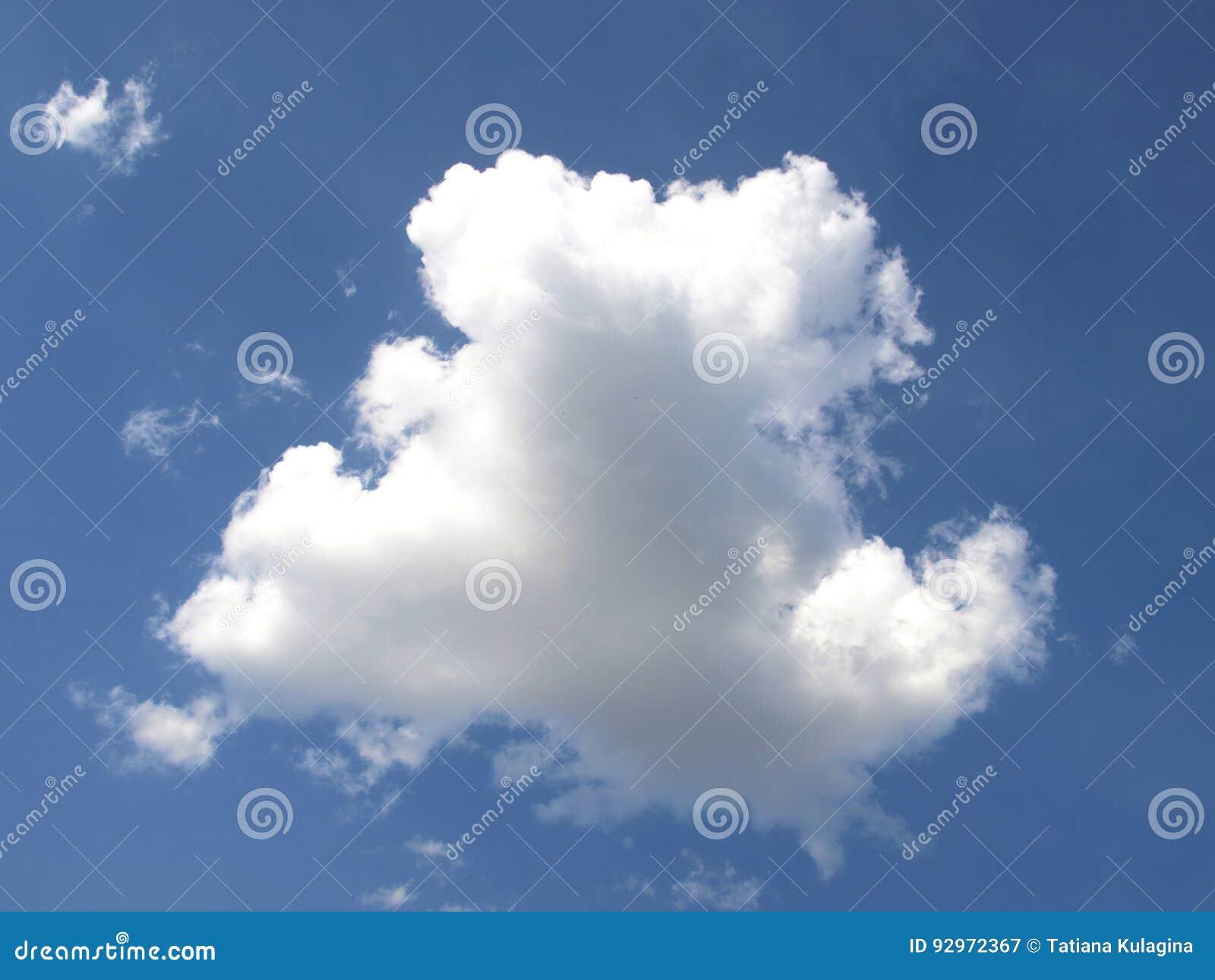 Chmura w niebie