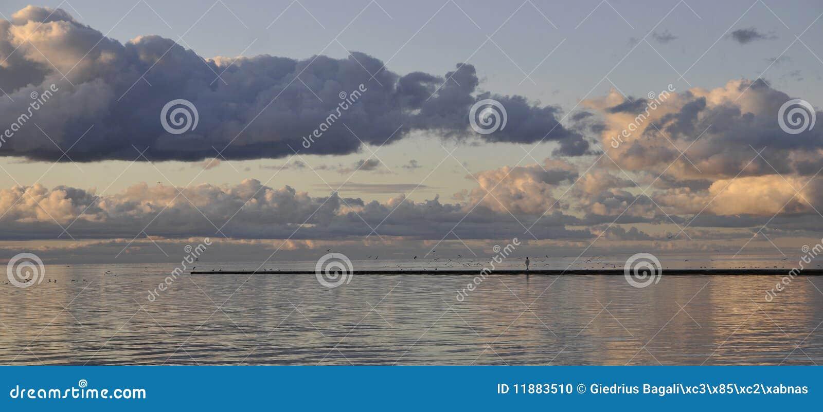Chmurny morze