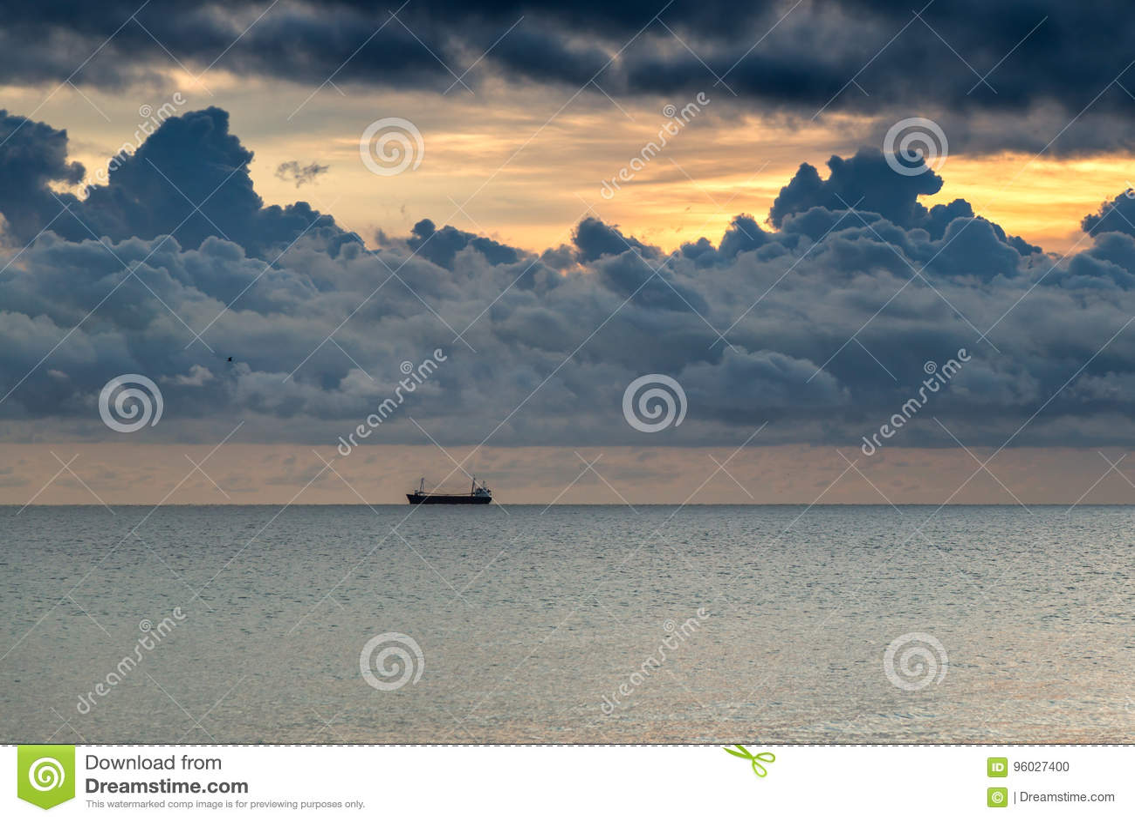 Chmury I morze