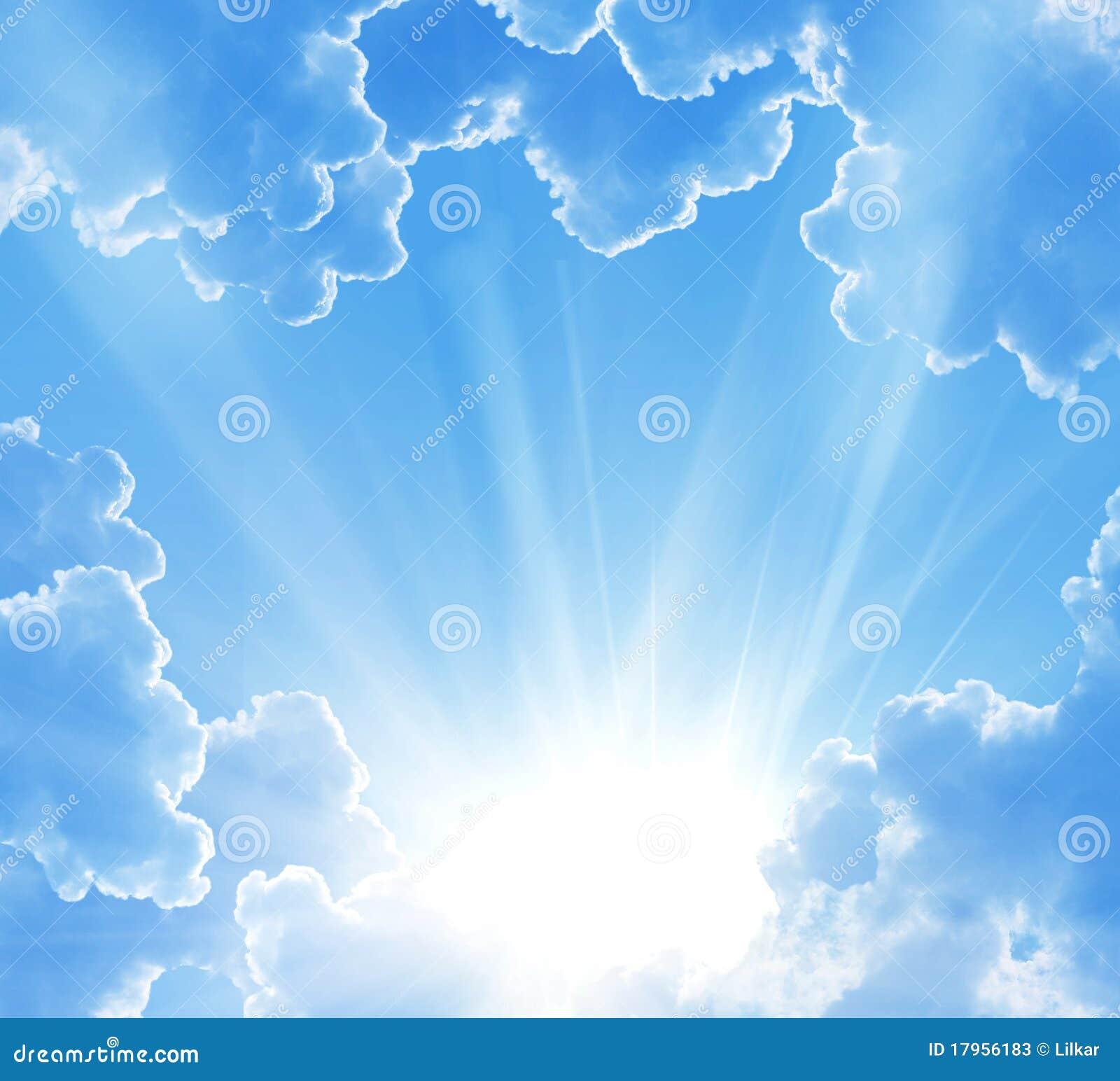 Chmury piękna fantazja