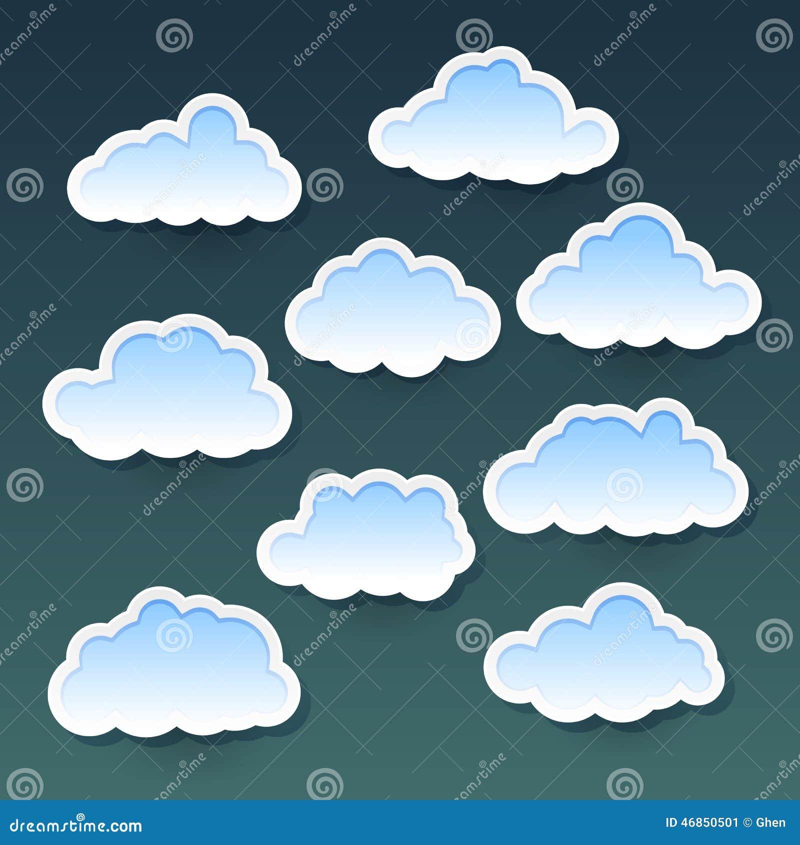 Chmury ustawiać