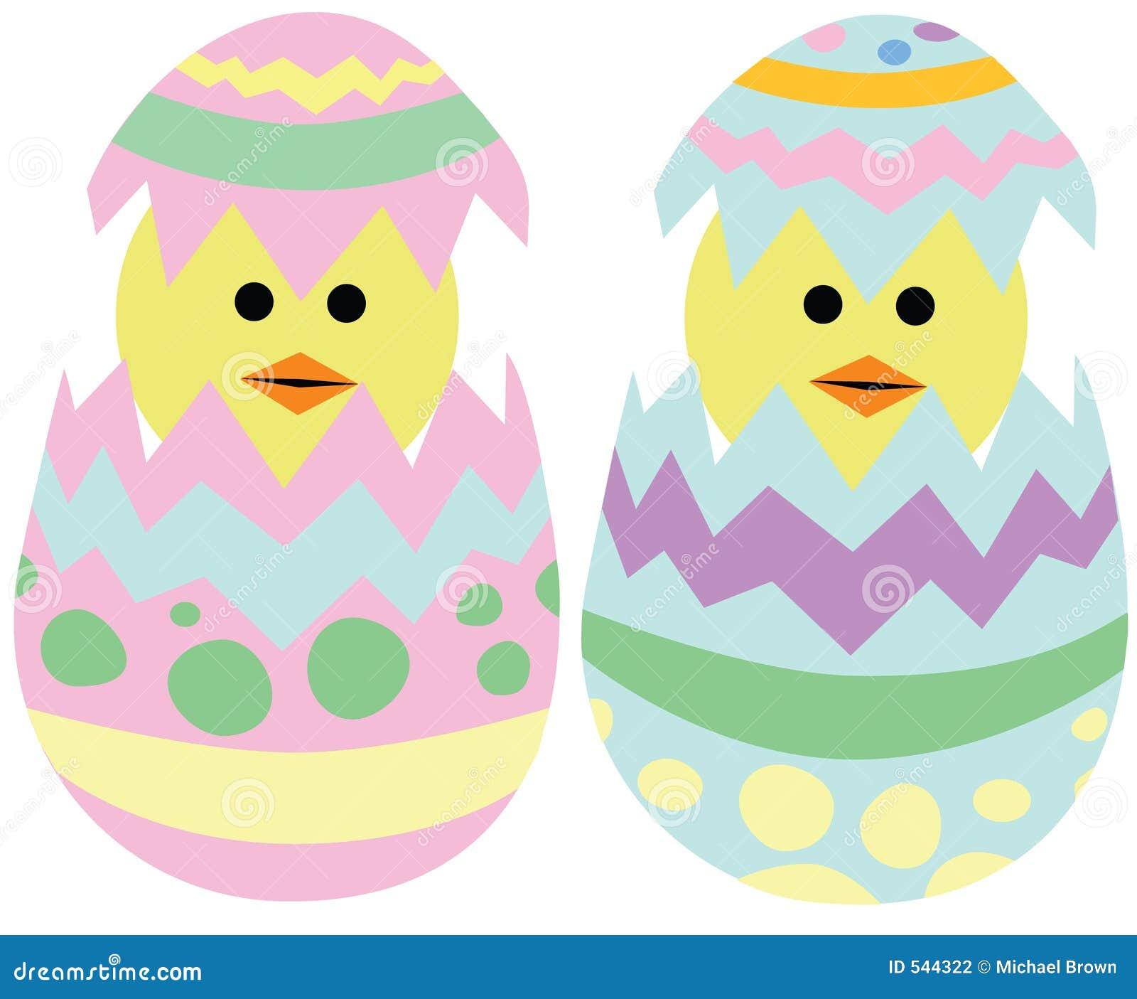 Chocando pintainhos de Easter