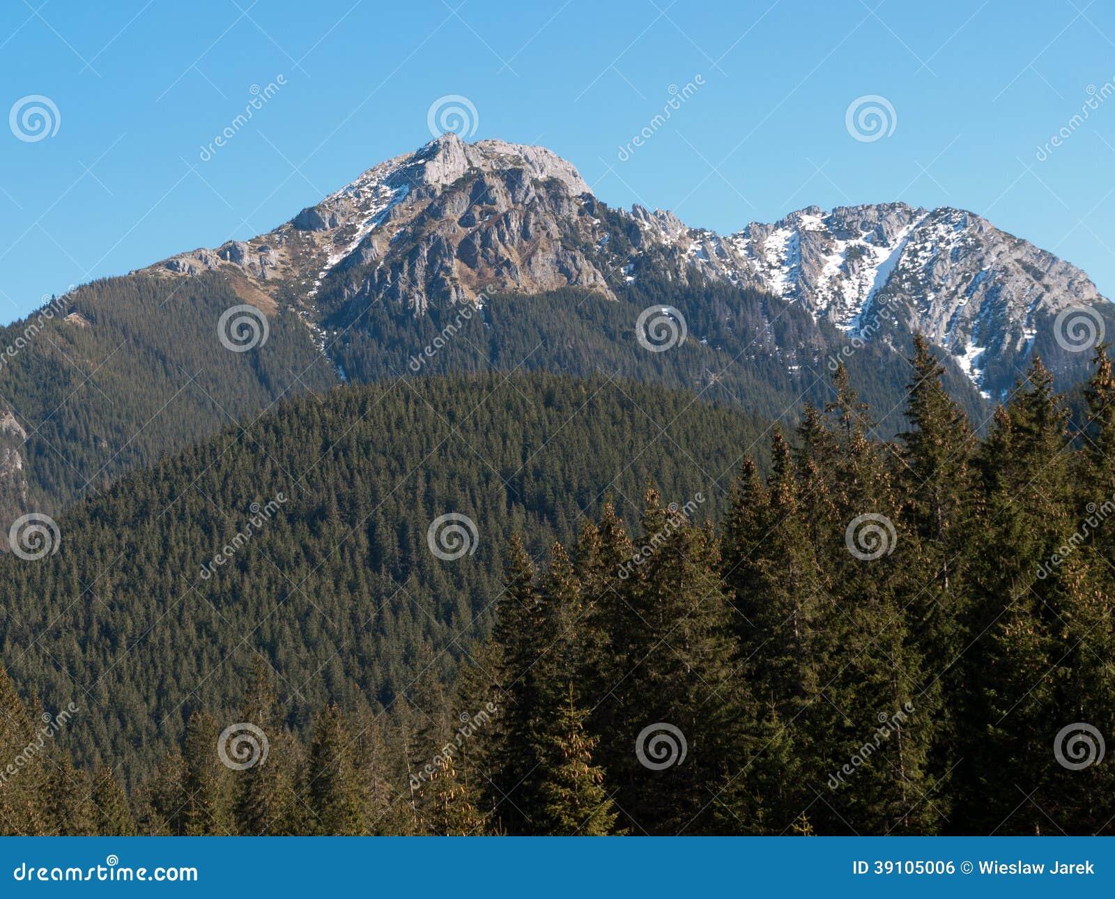 Chocholowskavallei in het Westen Tatras,
