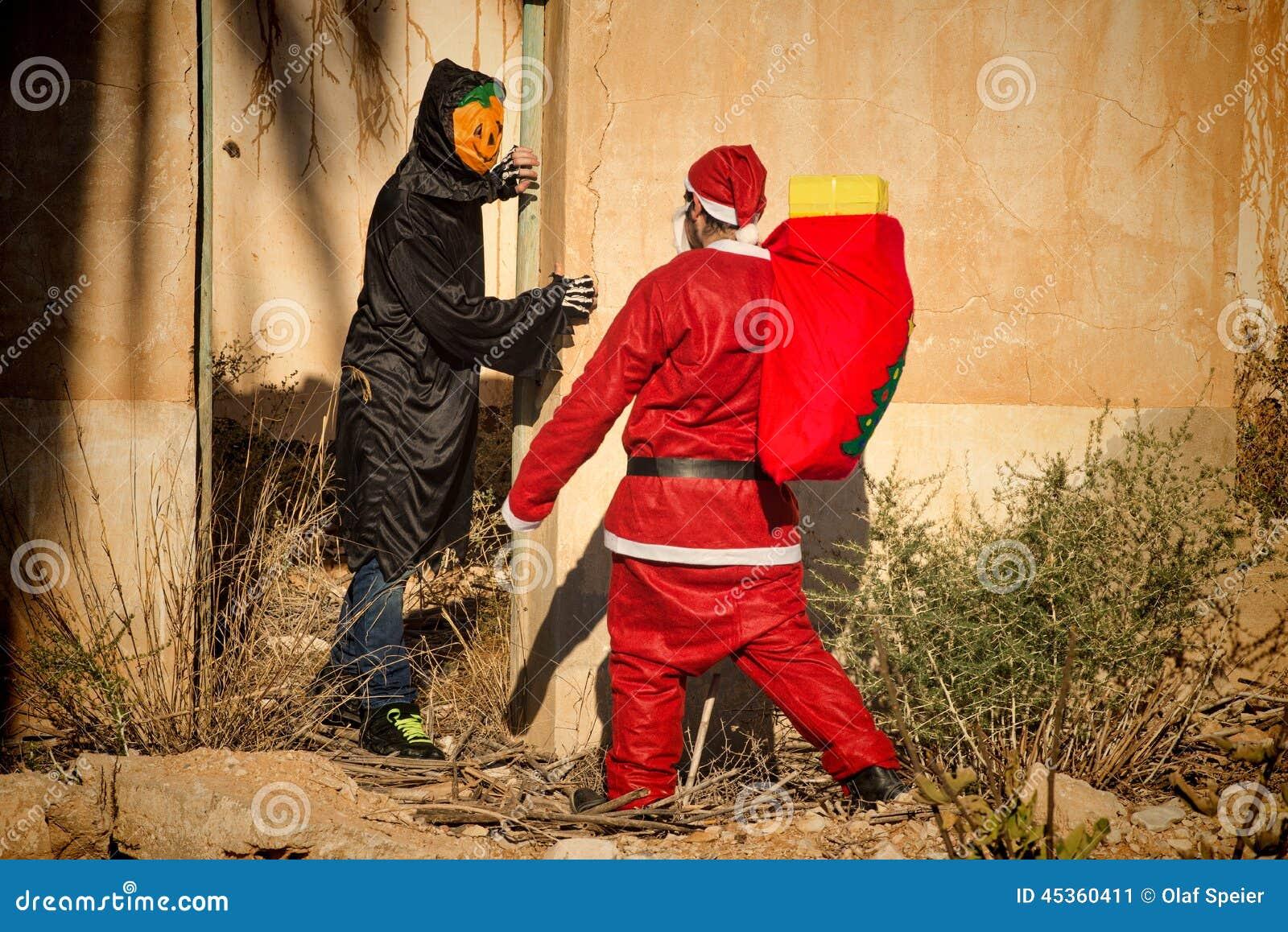 Chockad jultomten