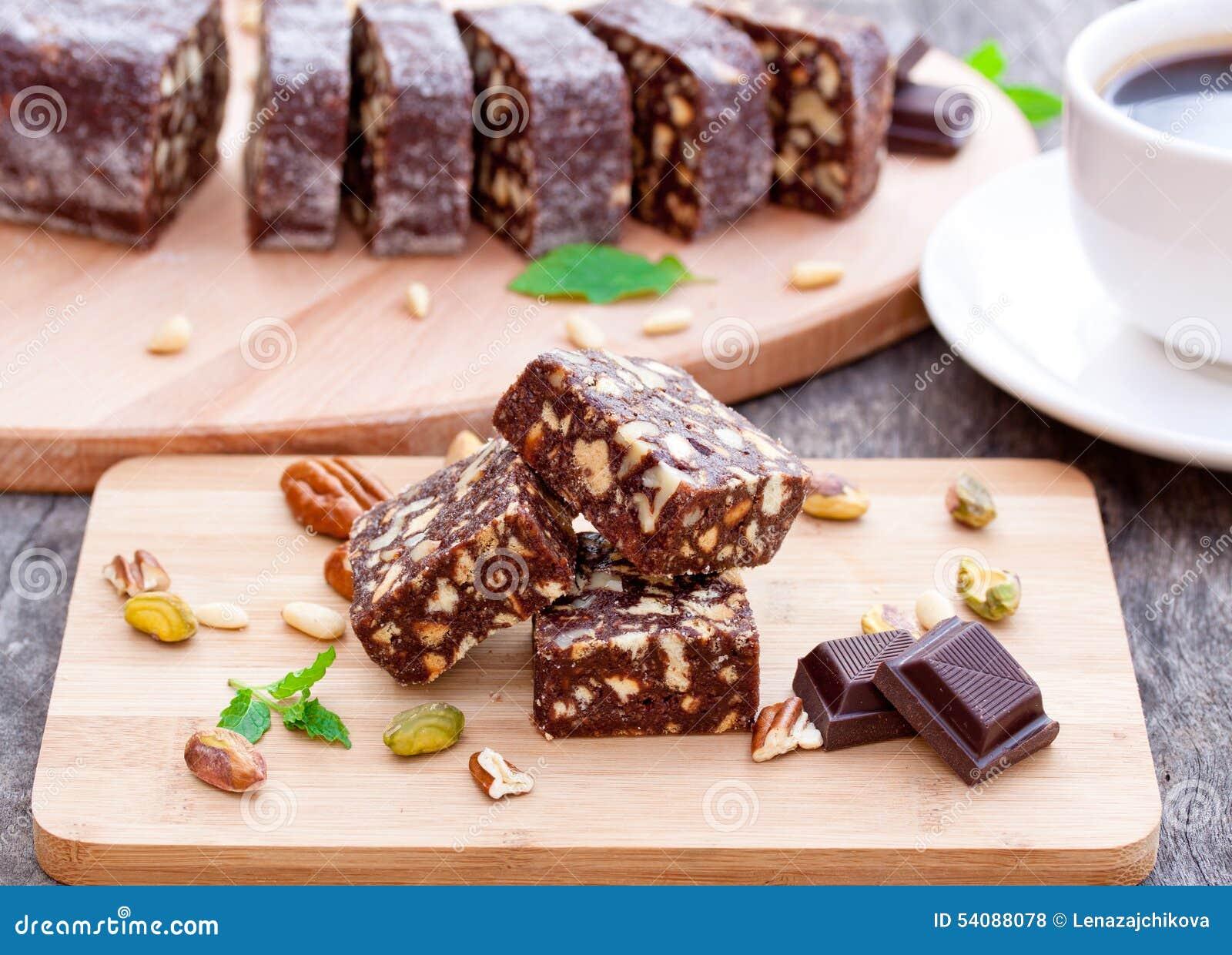 Chocoladebrownie met noten