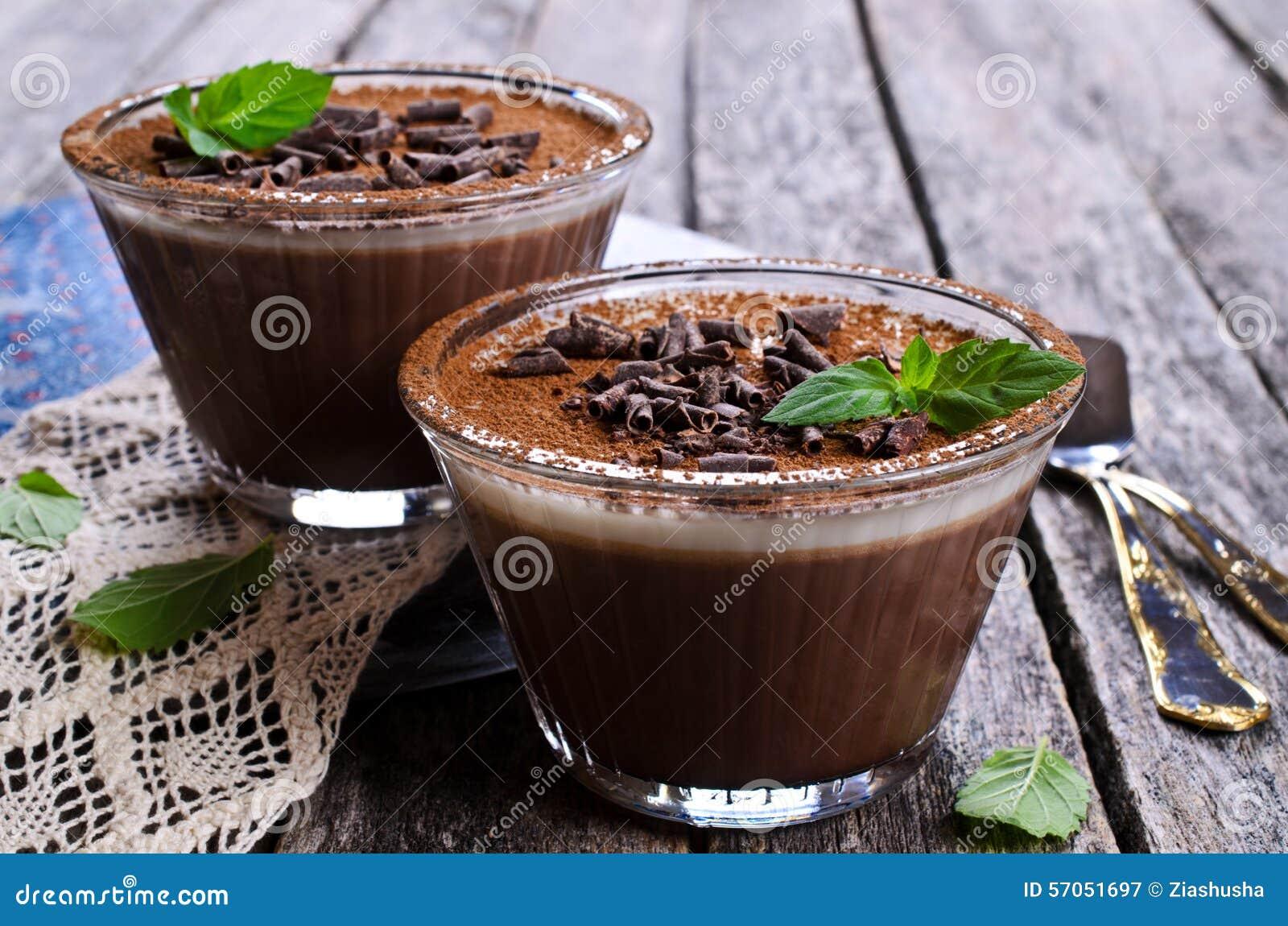 Chocoladegelei