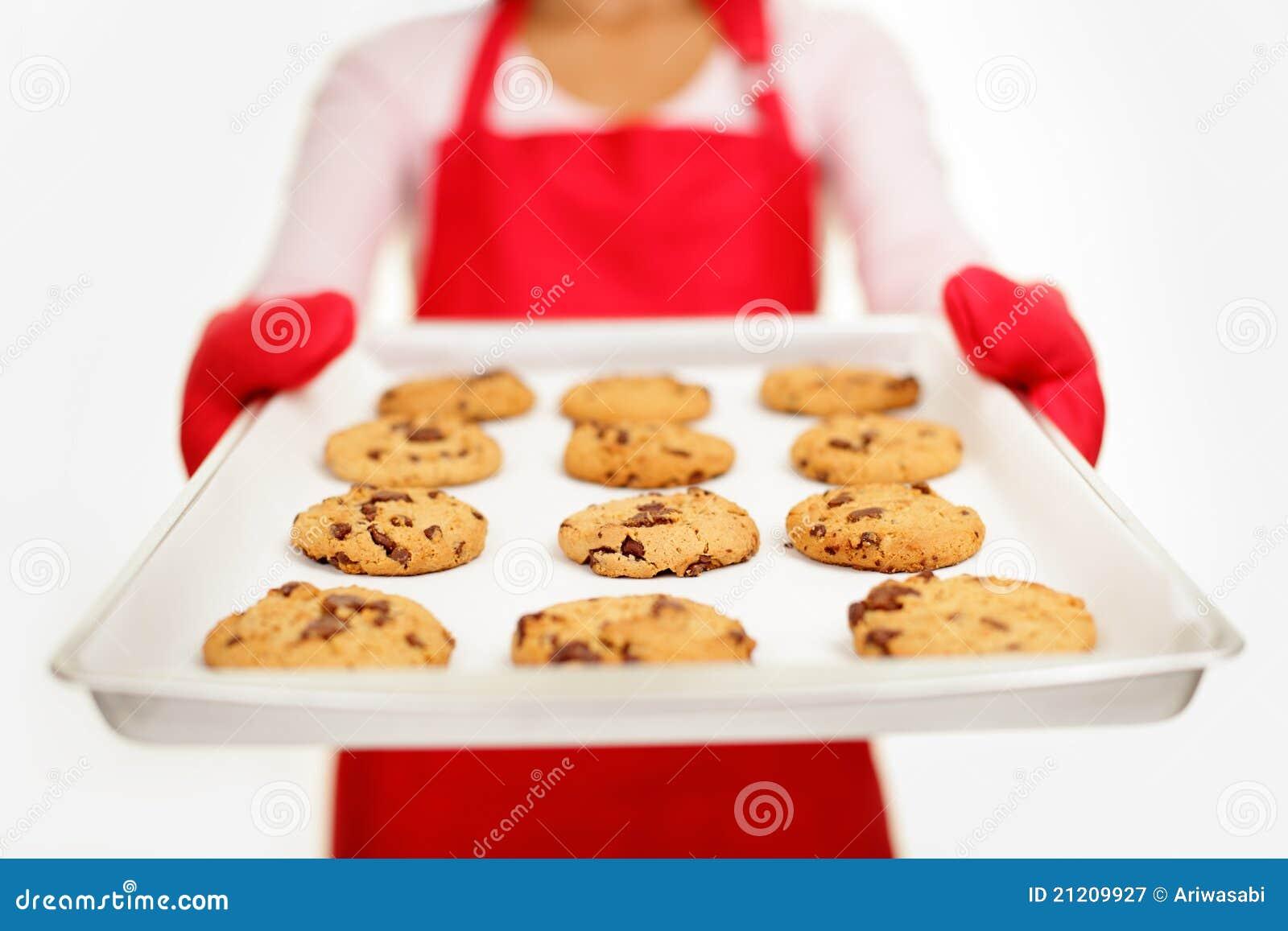Chocoladeschilferkoekjes - bakselvrouw