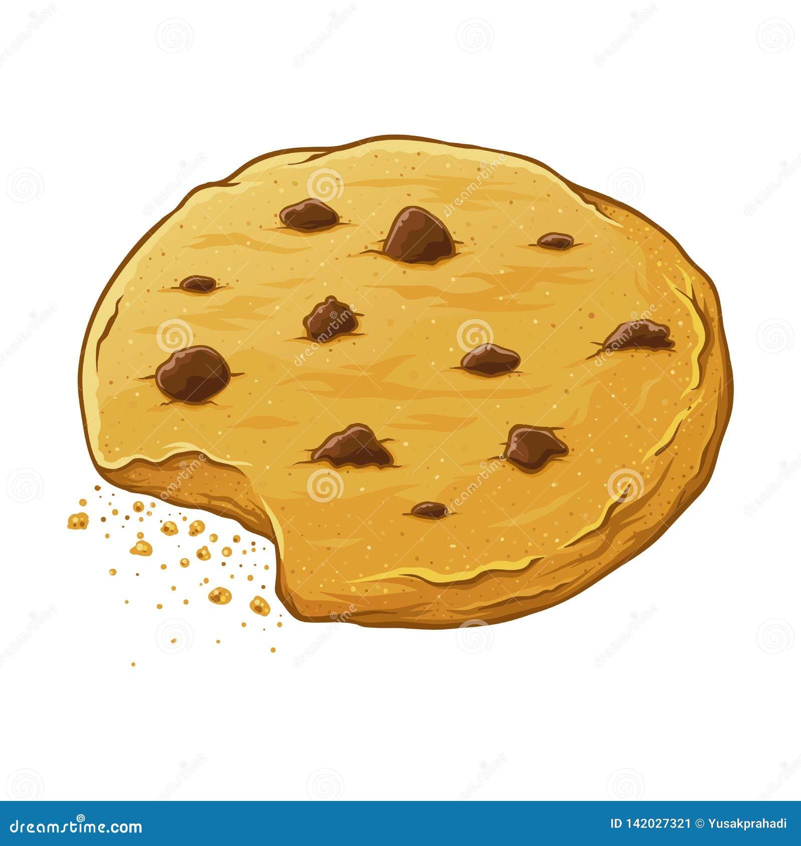 Chocolat Chips Cookie Eaten