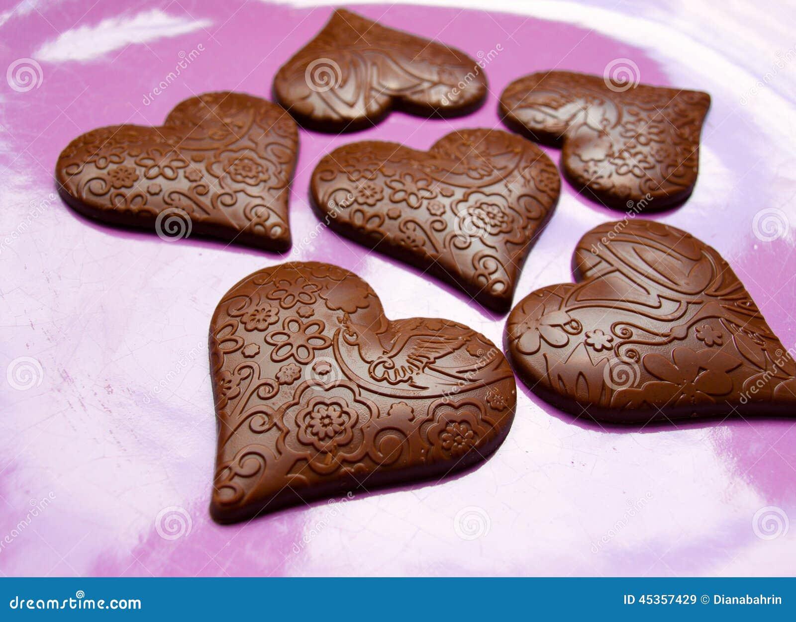 Chocolat de Coeur-forme