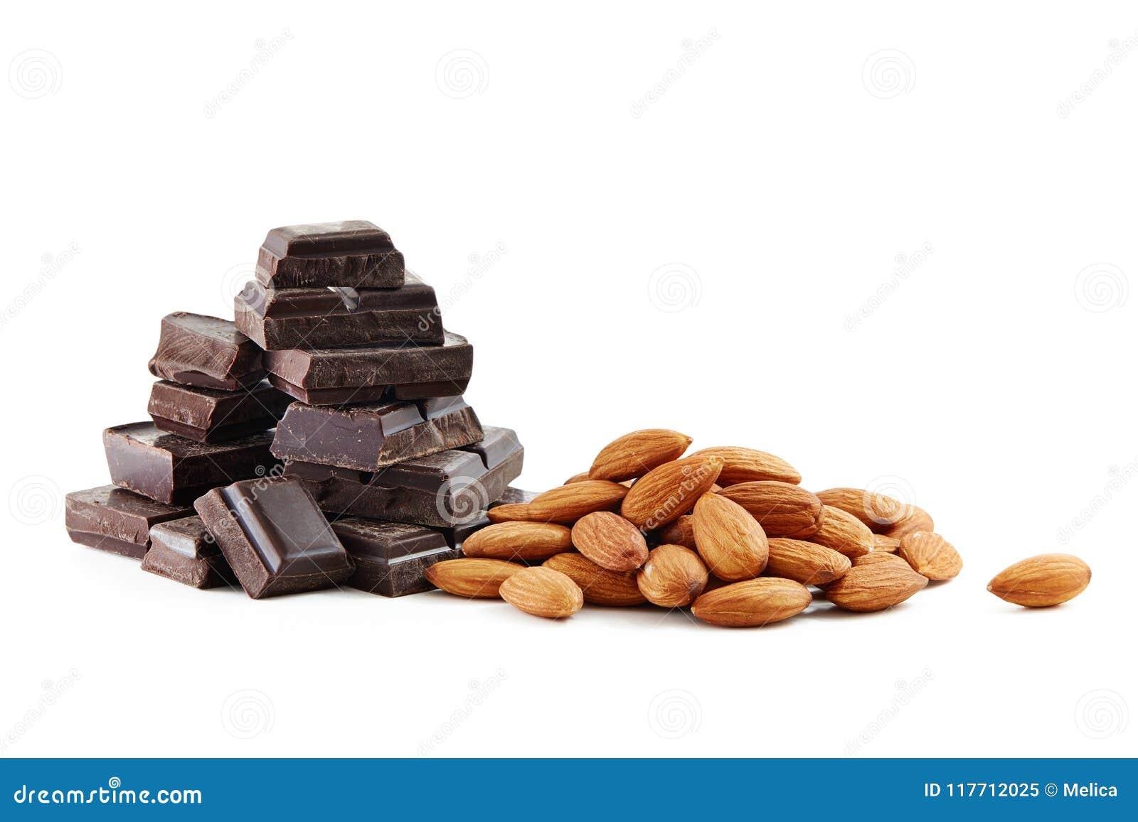 Chocolat et amandes