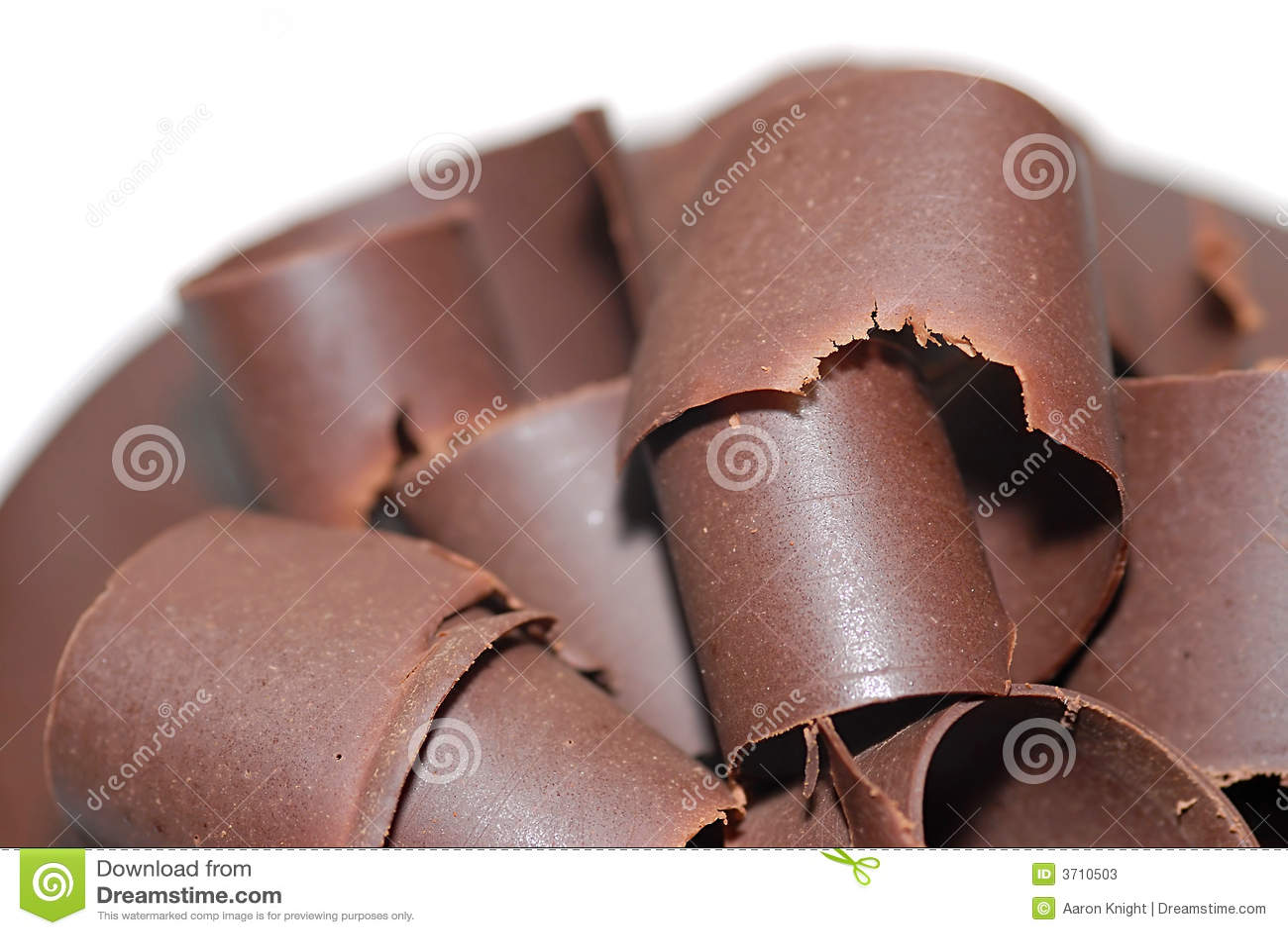 Chocolat frais rasé