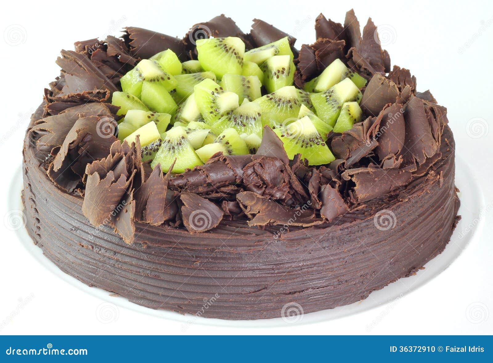 Cake Kiwi Chocolat