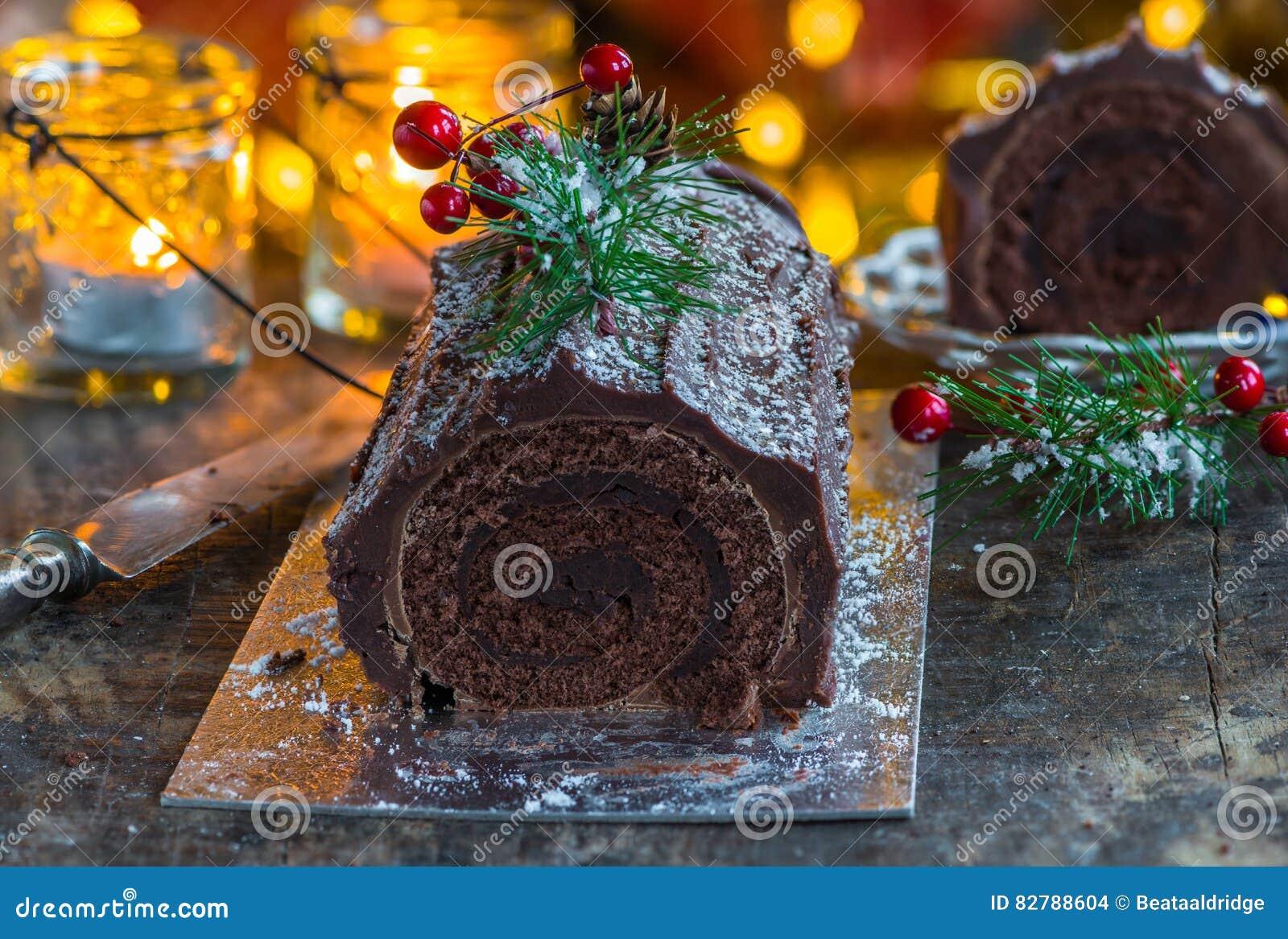 Chocolat Yule Log