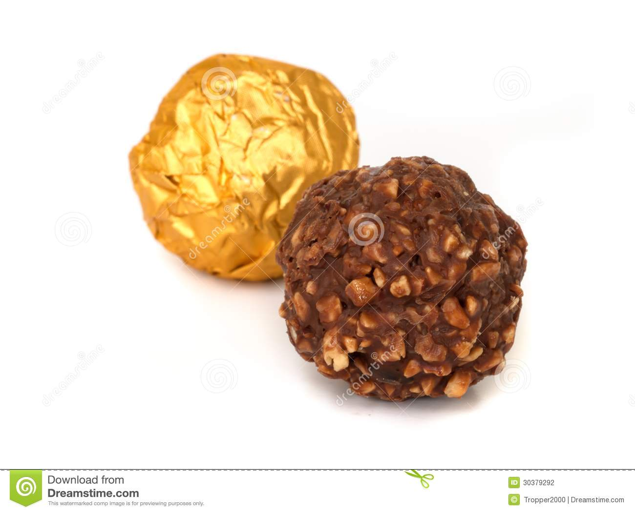 Chocolate Balls. Stock Photography - Image: 30379292