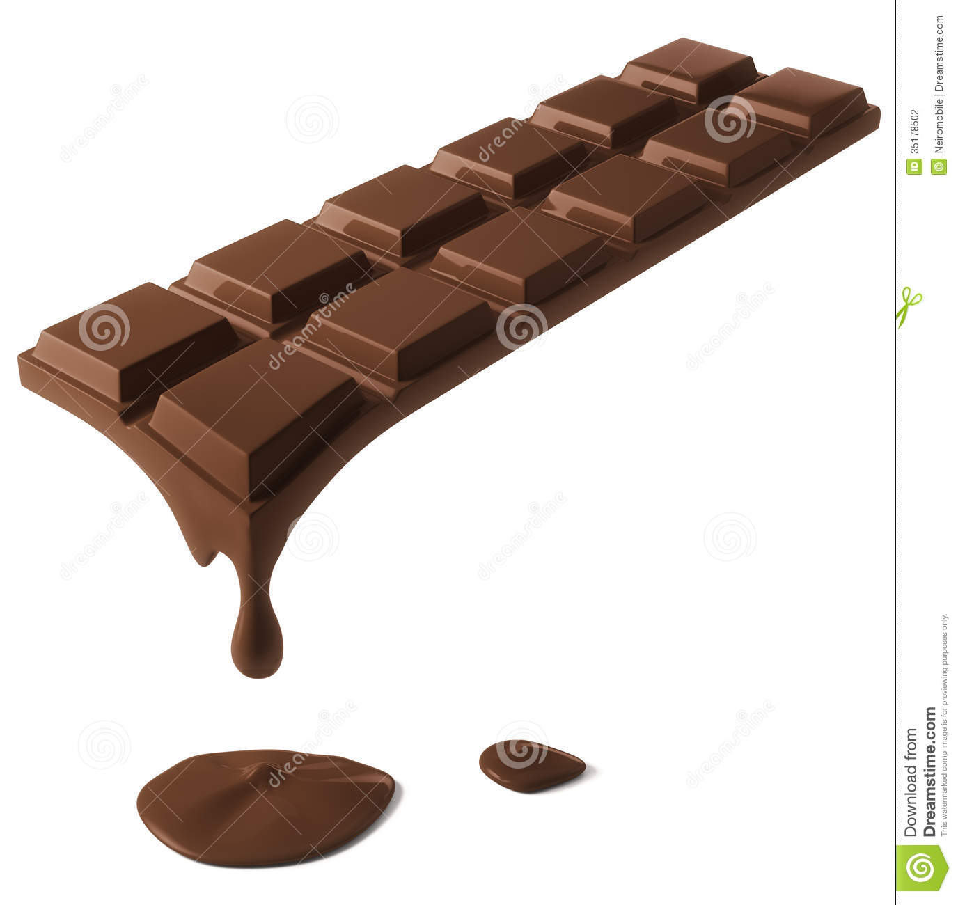 Melting Chocolate Bar Stock Photos, Images, & Pictures - 912 Images