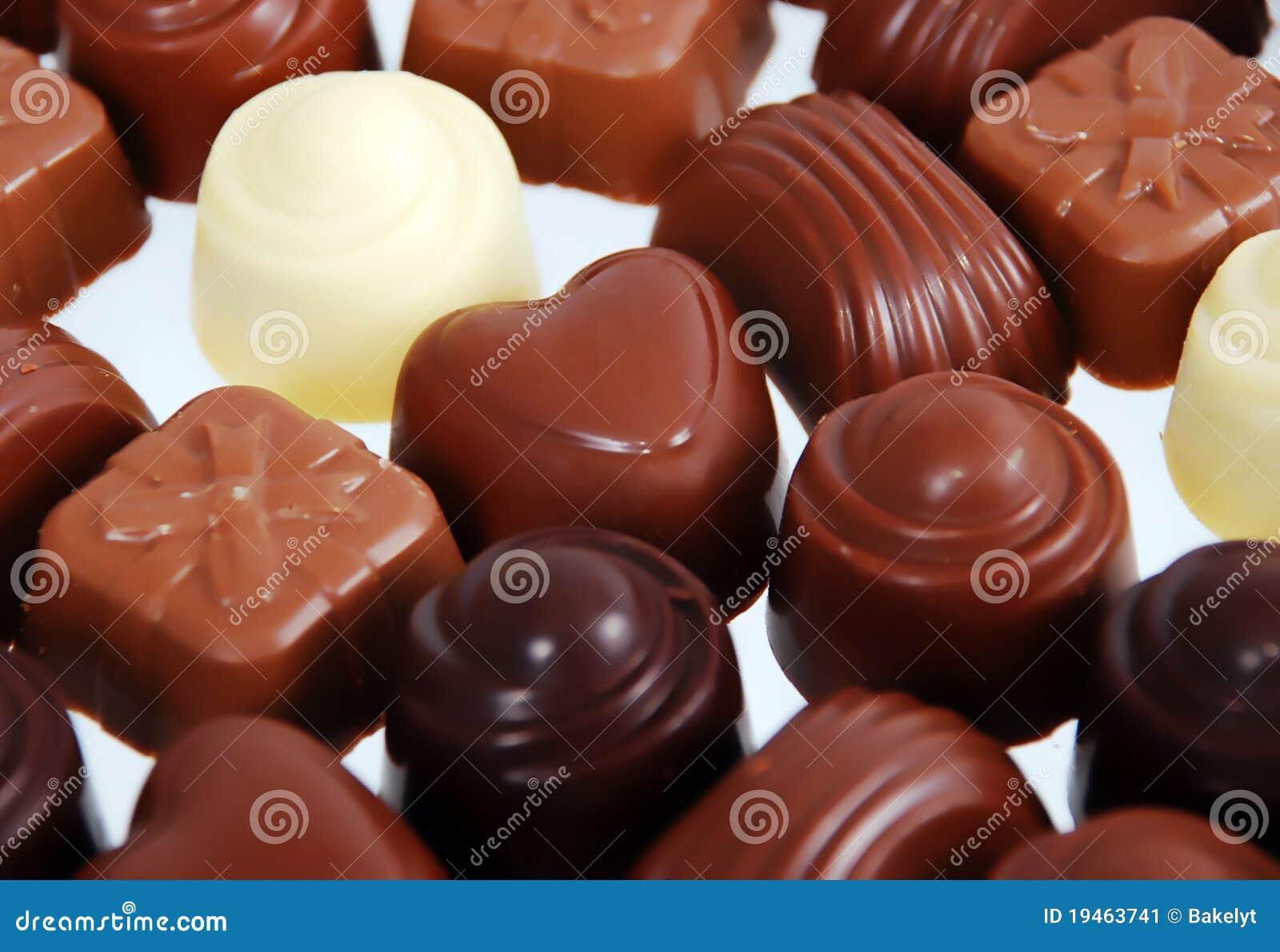 Chocolate Bon Bons Stock Image - Image: 19463741