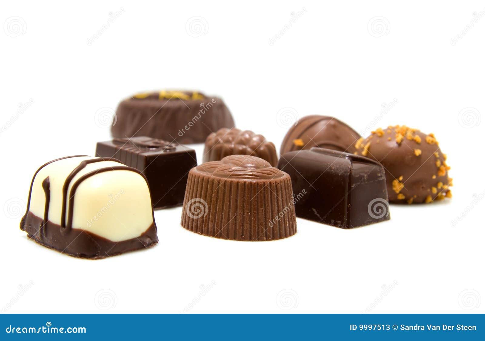 Chocolate Bonbons Stock Photos - Image: 9997513