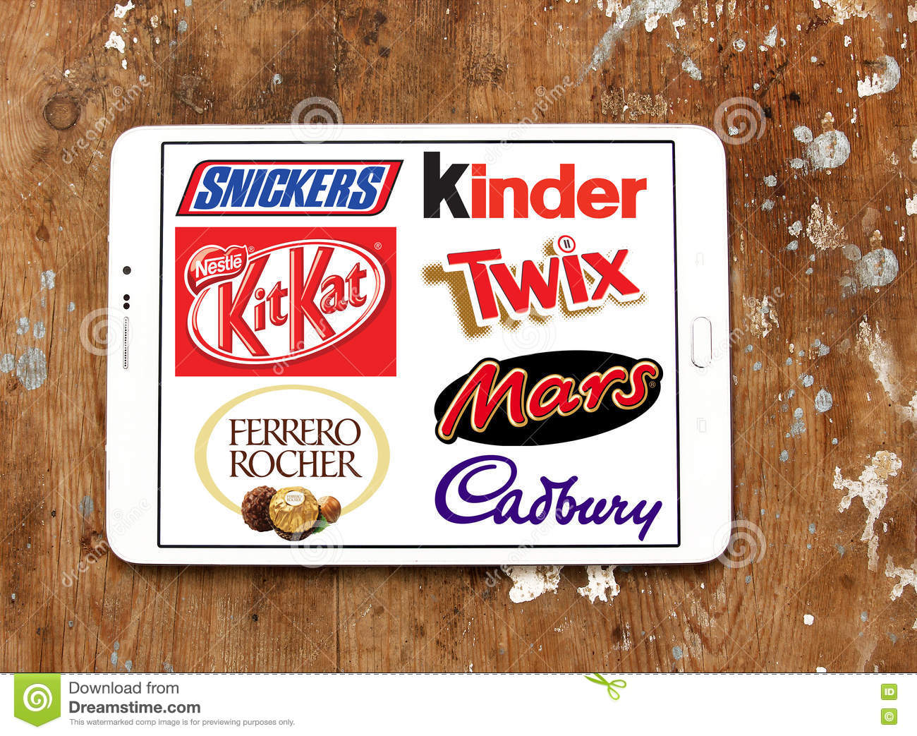 Chocolate Brands And Logos Editorial Photography - Image: 76285392