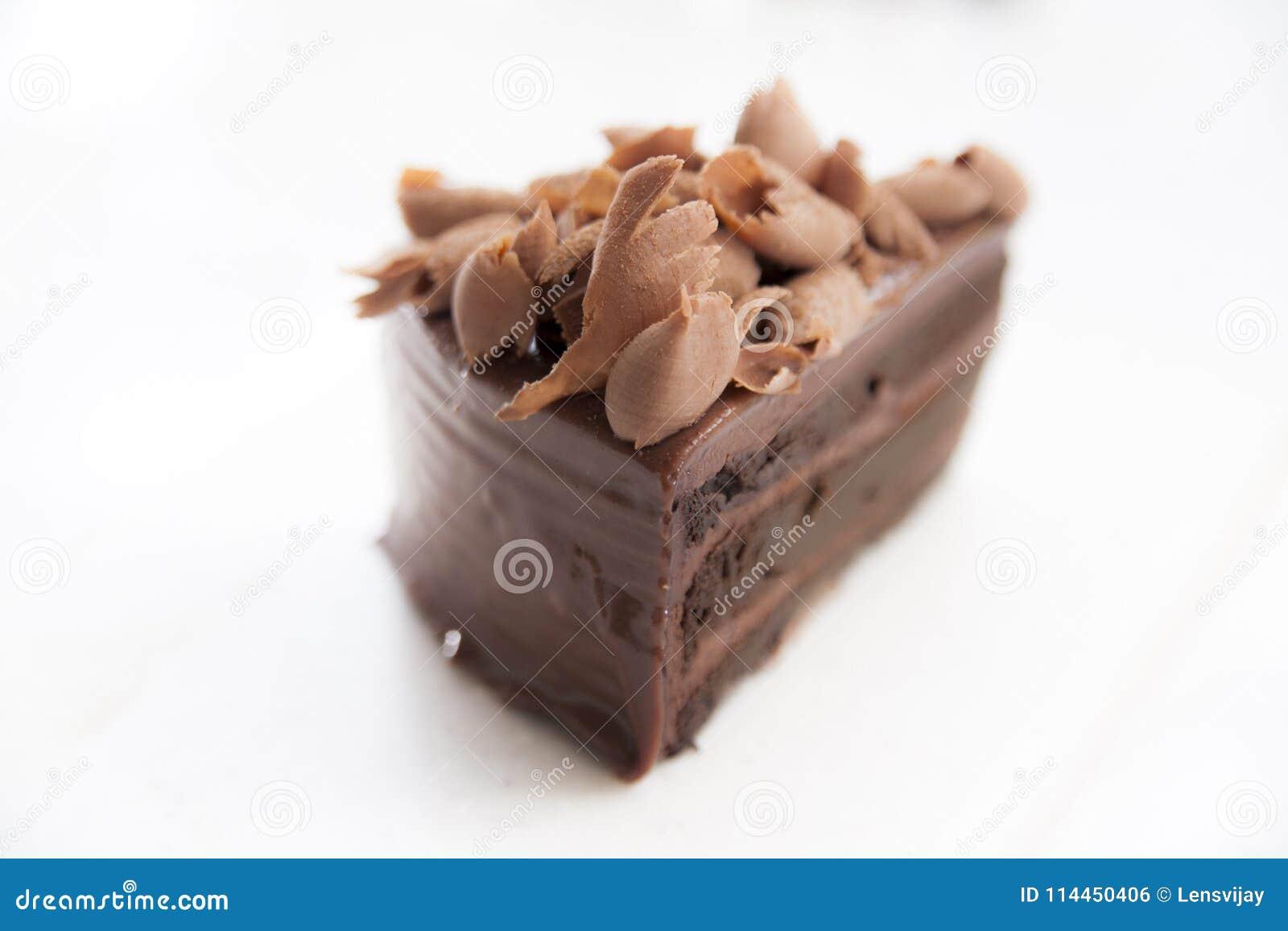 Chocolate Brownie Cake Stock Photo Image Of Item