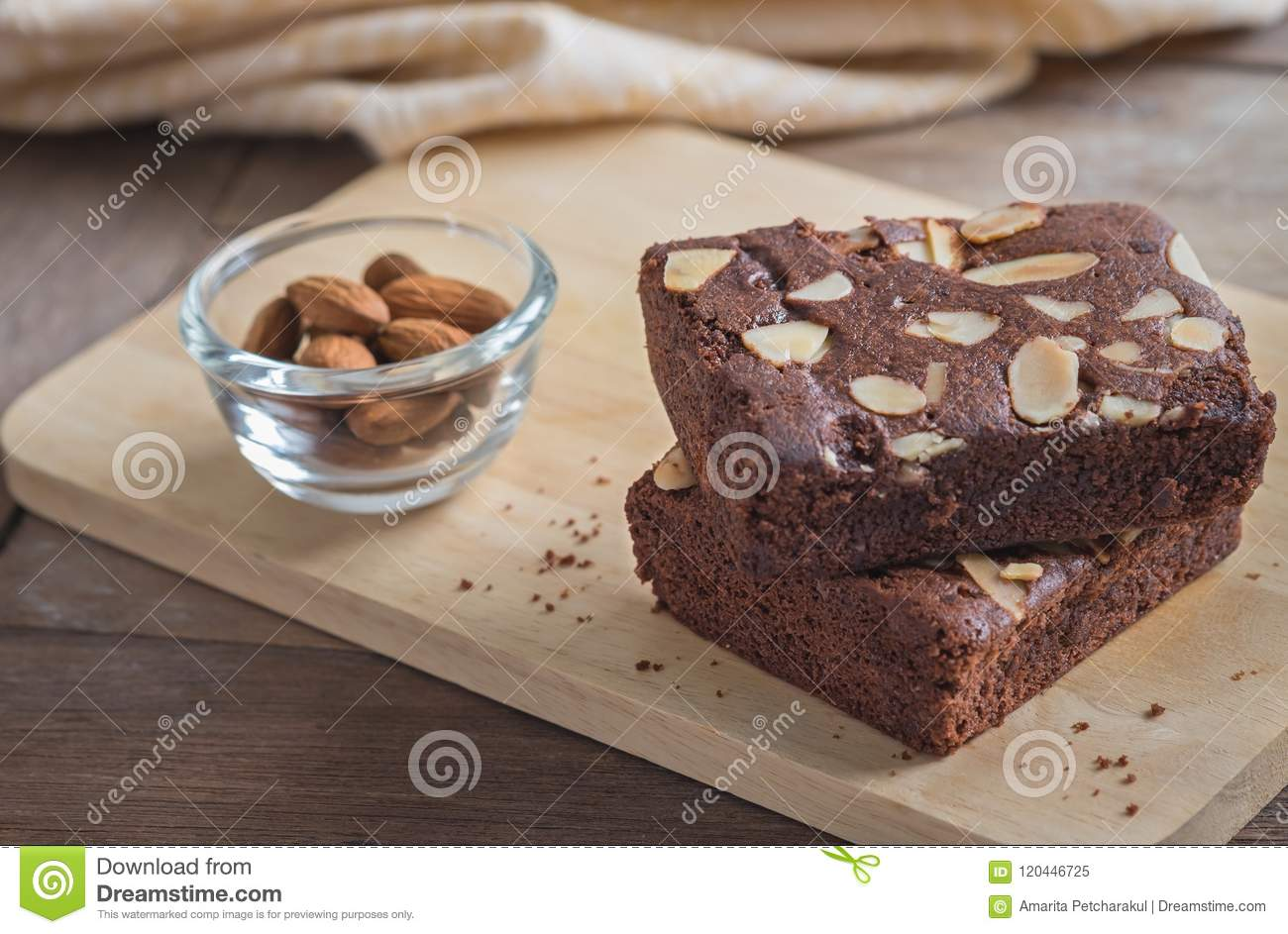 Chocolate-Almond Brownie Heart Chocolate-Almond Brownie Heart new picture