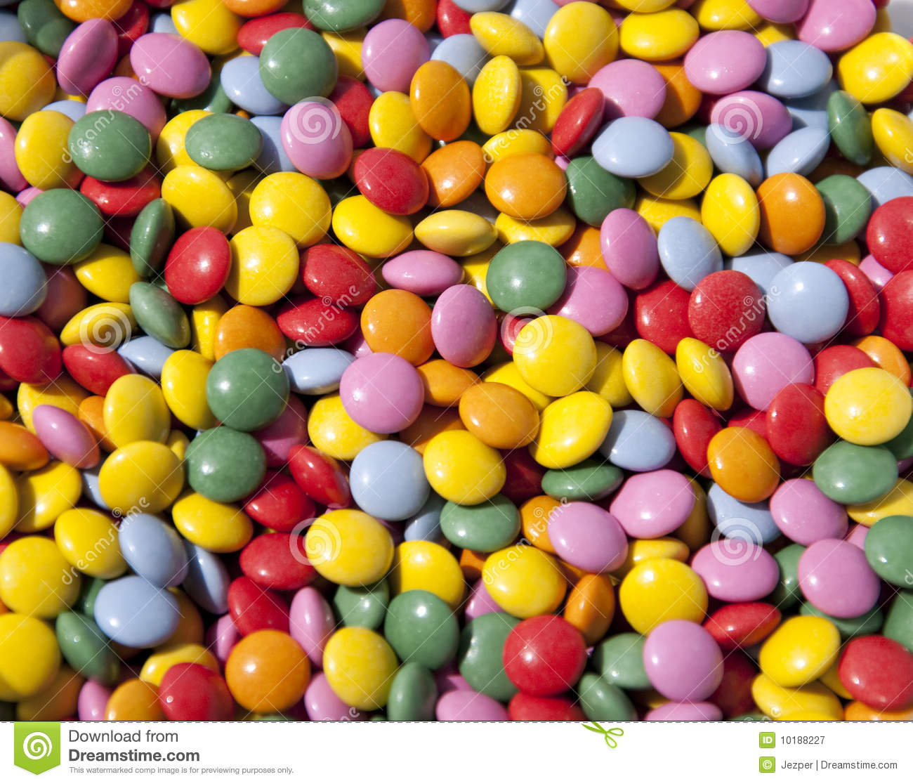 Chocolate Buttons Candy Stock Image Of Cheerful