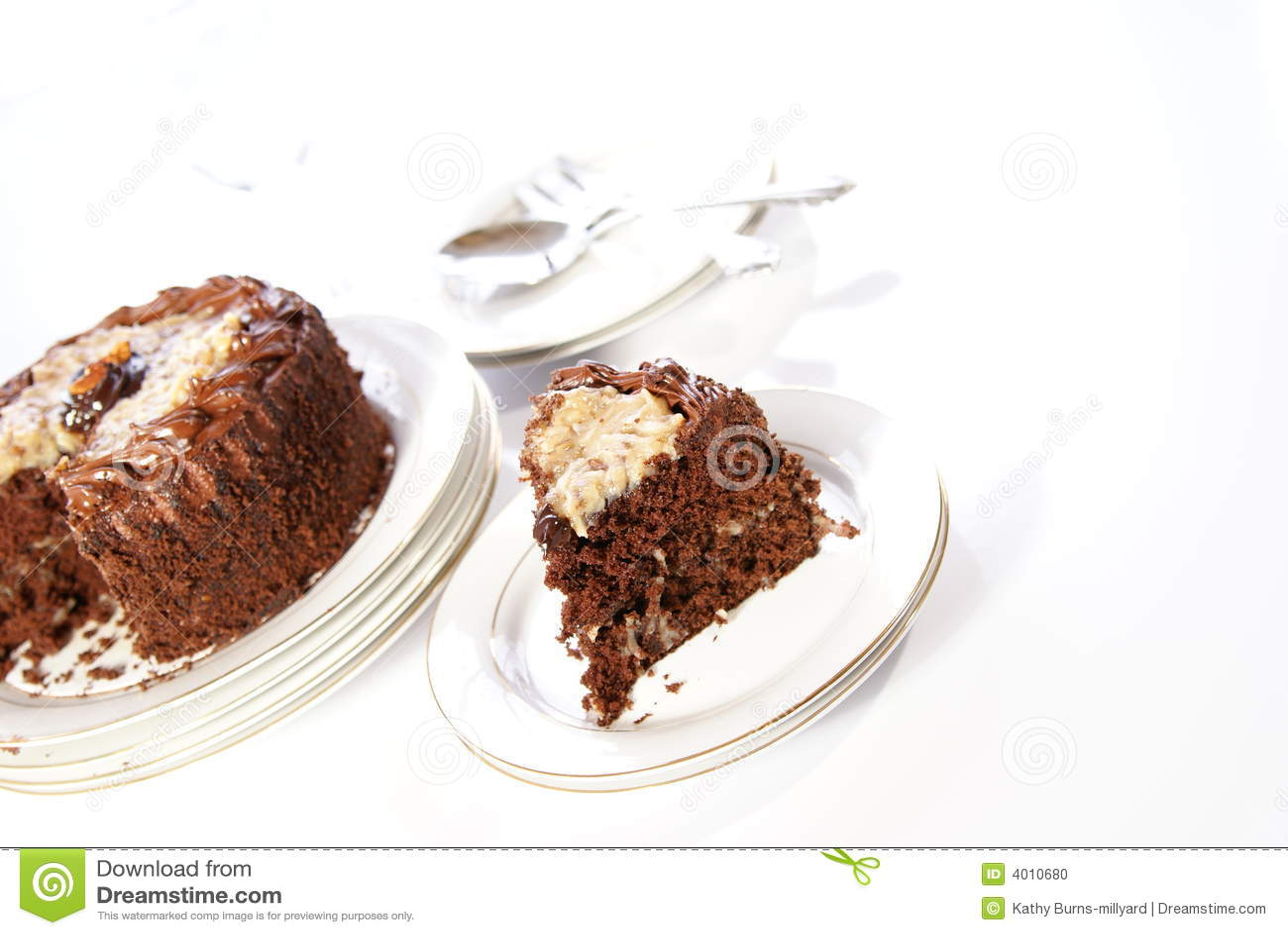 German Double-Chocolate Cake Recipe — Dishmaps