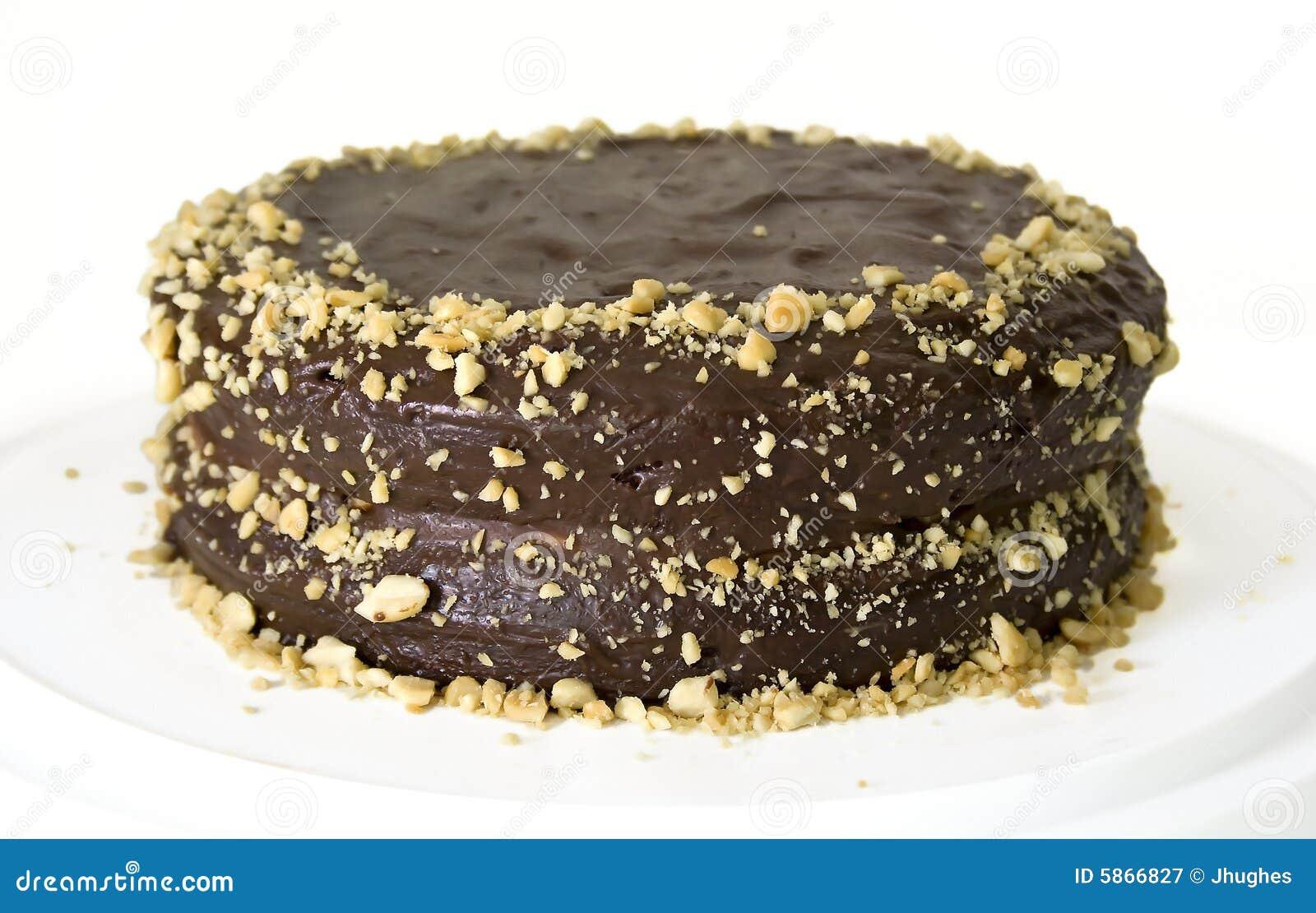 Chocolate layer birthday cake with chocolate ganache glaze frosting ...