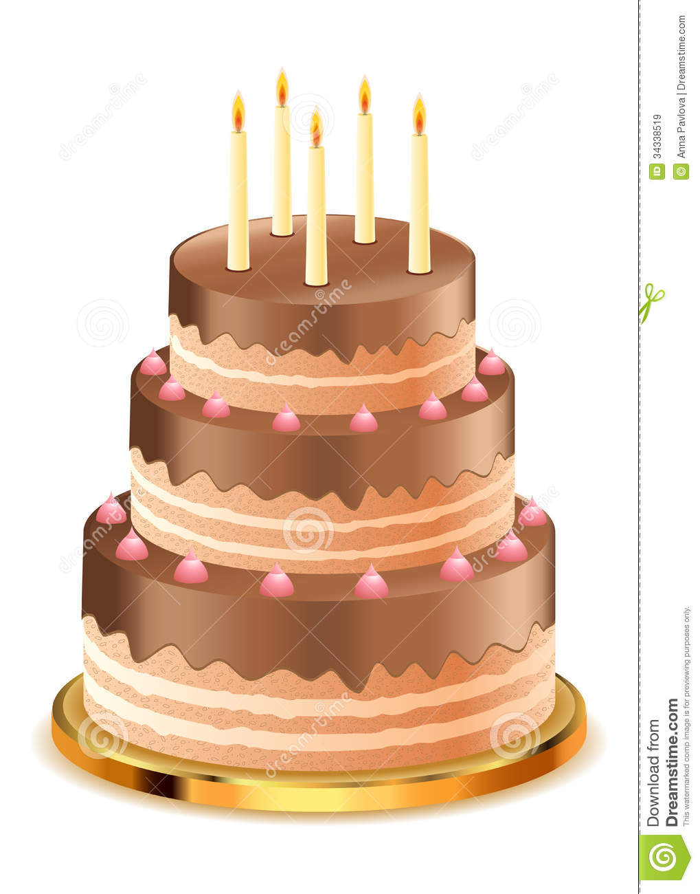Chocolate Cake Images With Candles : Chocolate Cake With Candles Royalty Free Stock Images ...