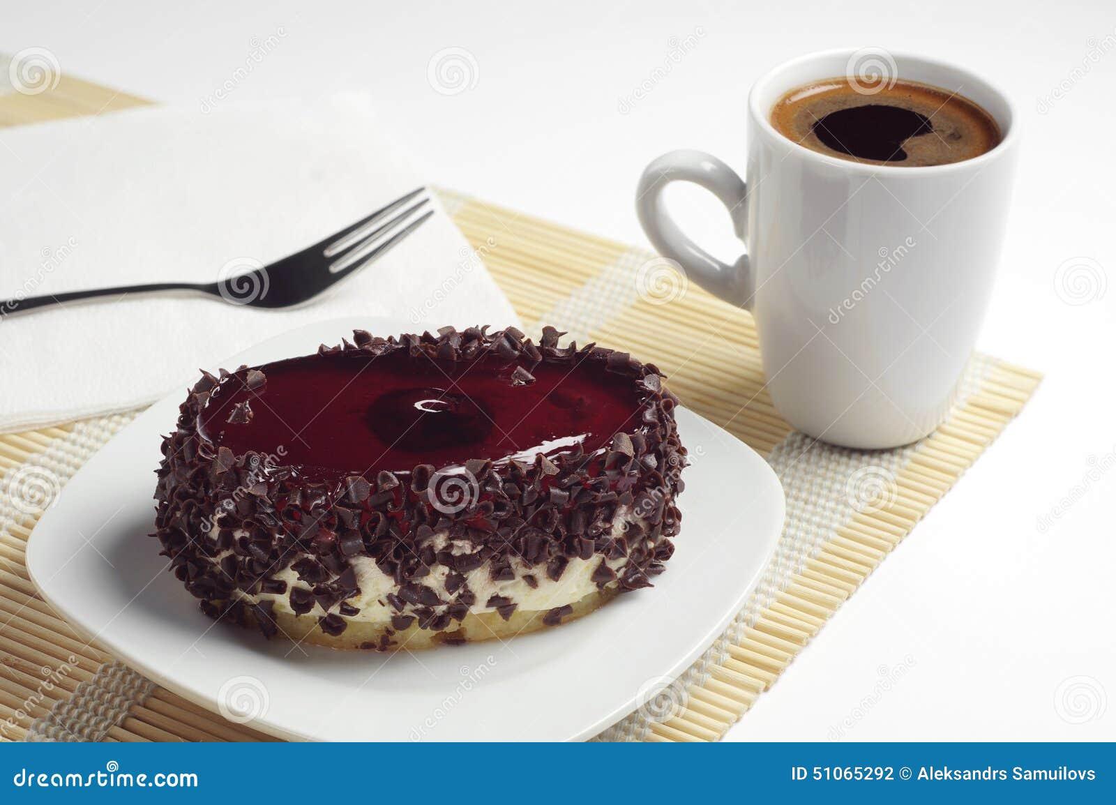 Chocolate Coffee Beans Cake Decoration