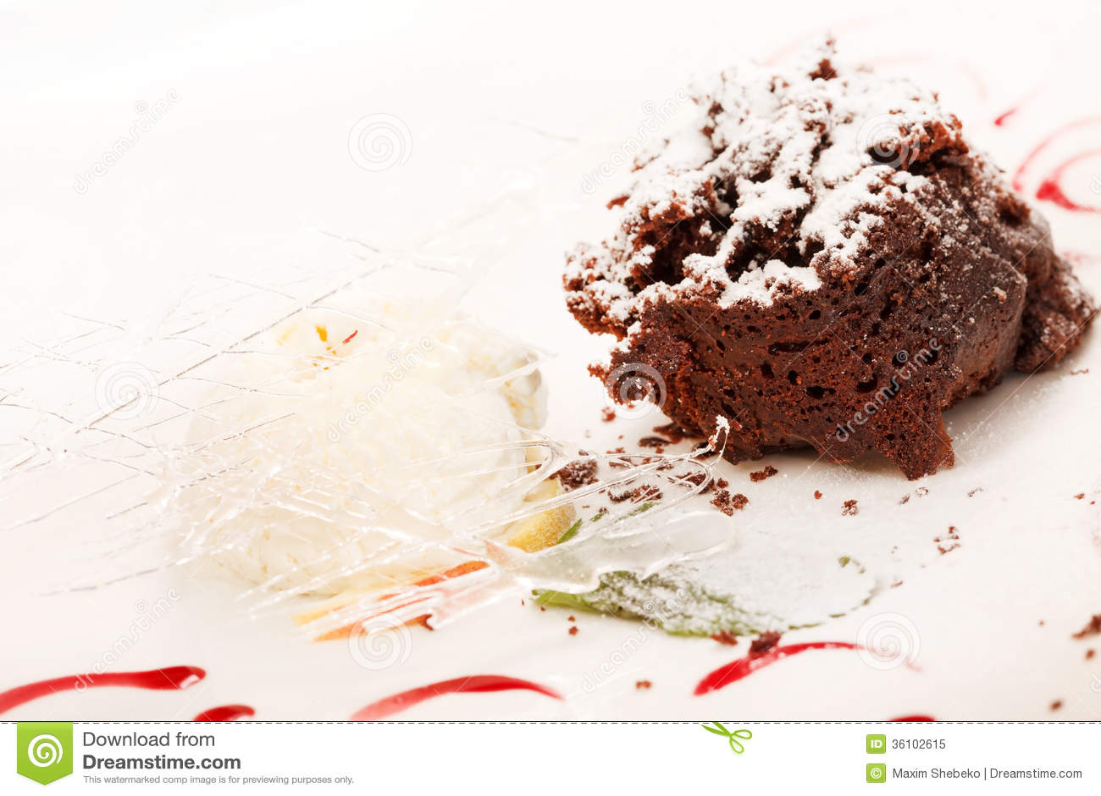 Chocolate Cake Royalty Free Stock Photo - Image: 36102615