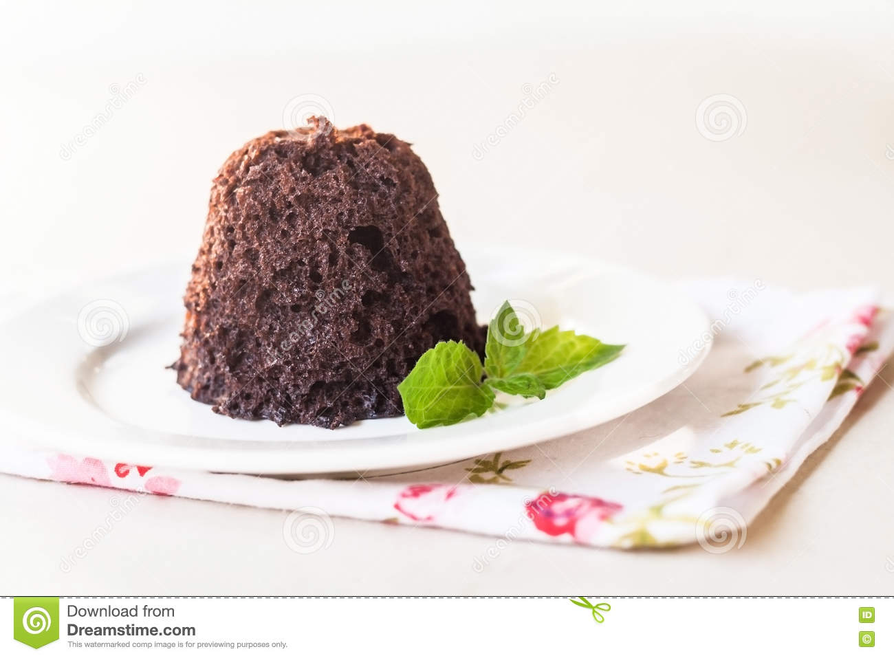 Dark Chocolate Mint Layered Cake
