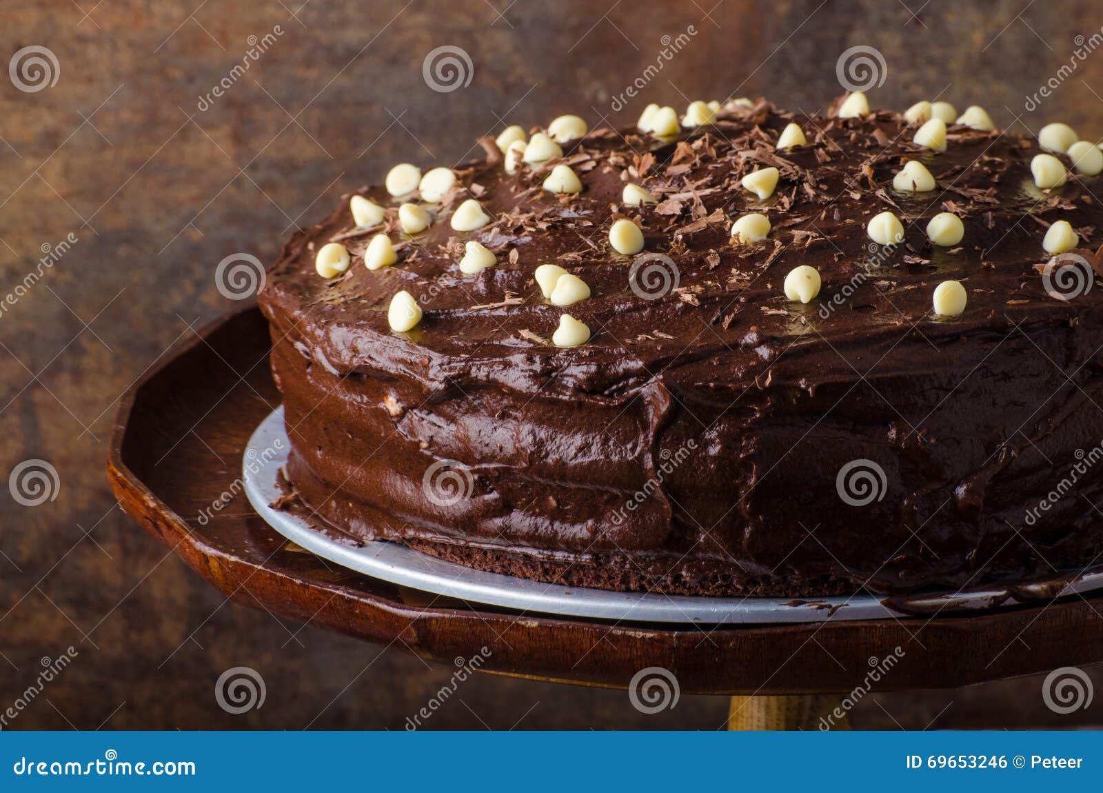 Chocolate cake three layers