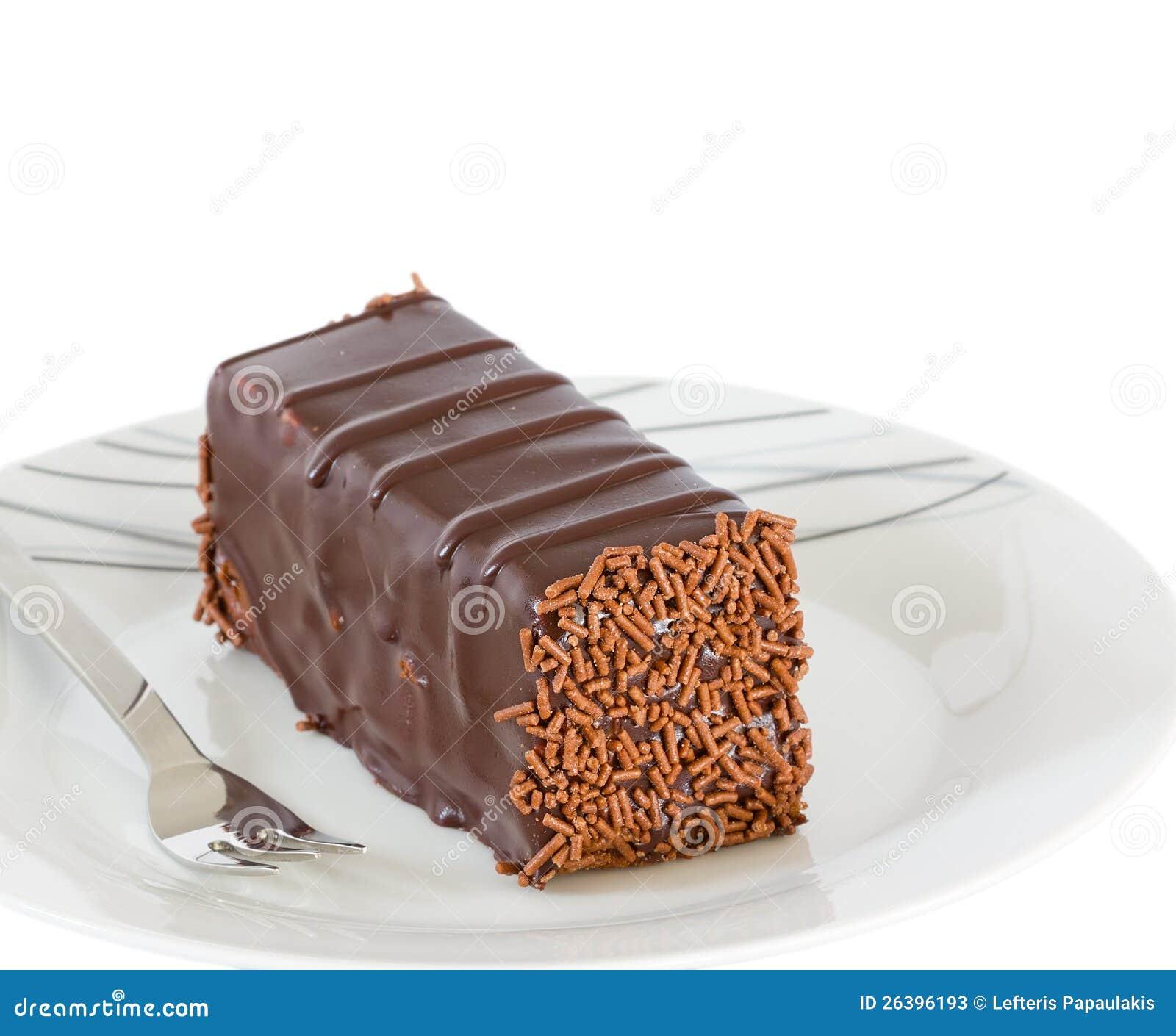 Decoration Of Chocolate Truffle Cake : Chocolate Cake With Truffle Decoration Isolated Stock ...