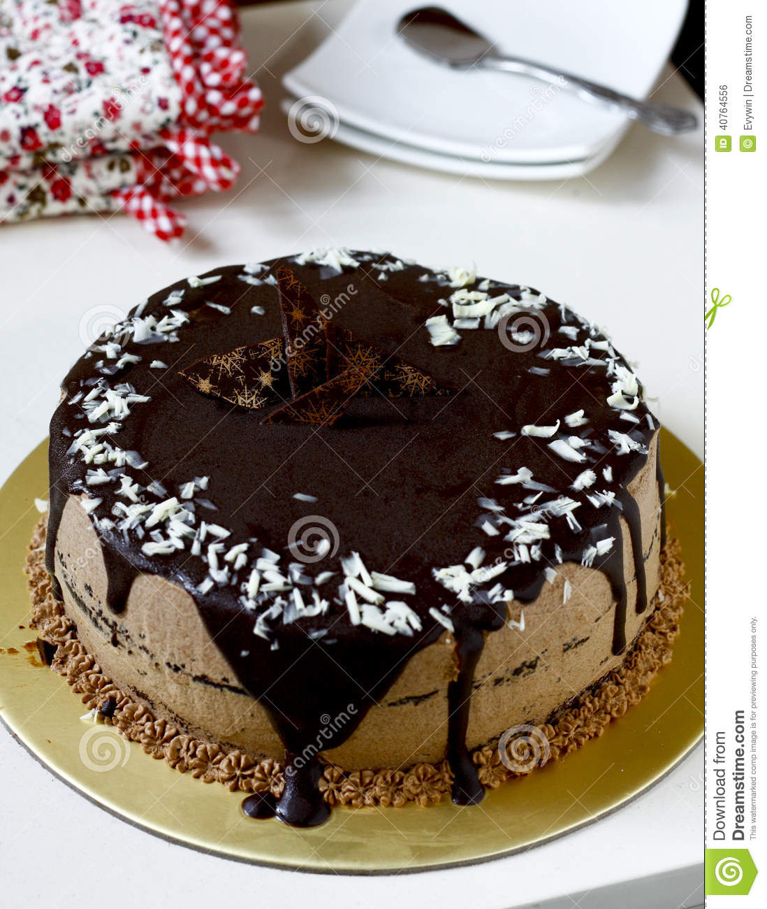 Chocolate Cake Stock Photo - Image: 40764556