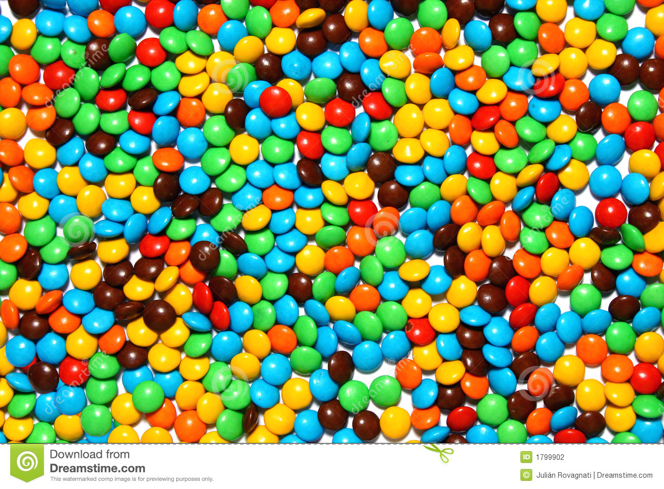 Chocolate Candies Background Stock Photography - Image: 1799902