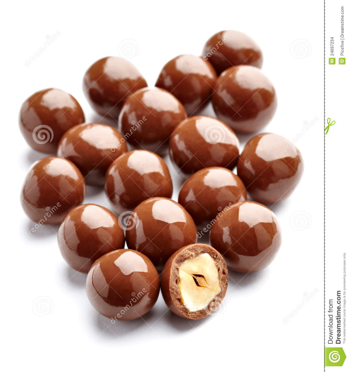 Chocolate Candy Stock Images - Image: 24697234