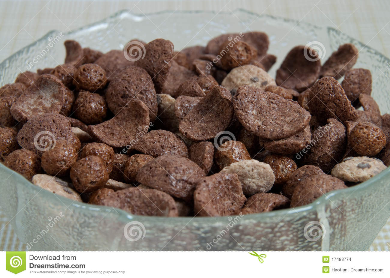Chocolate Cereal Stock Images - Image: 17488774