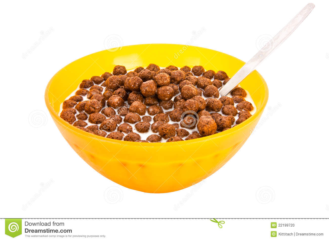 Chocolate Cereal Stock Photo - Image: 22199720