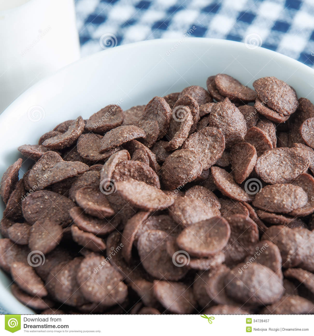Chocolate Cereal Royalty Free Stock Photography - Image: 34728457