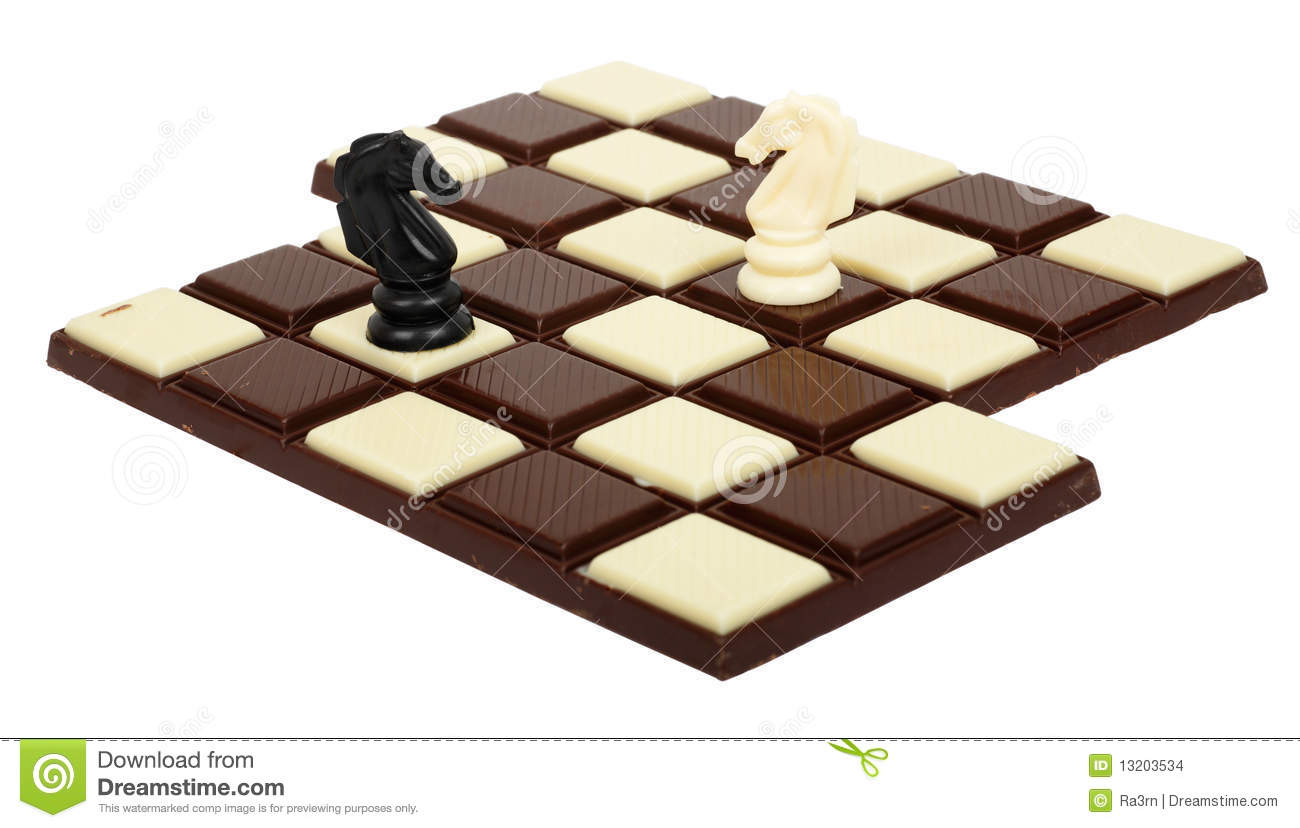 Chocolate Chessboard Stock Images - Image: 13203534