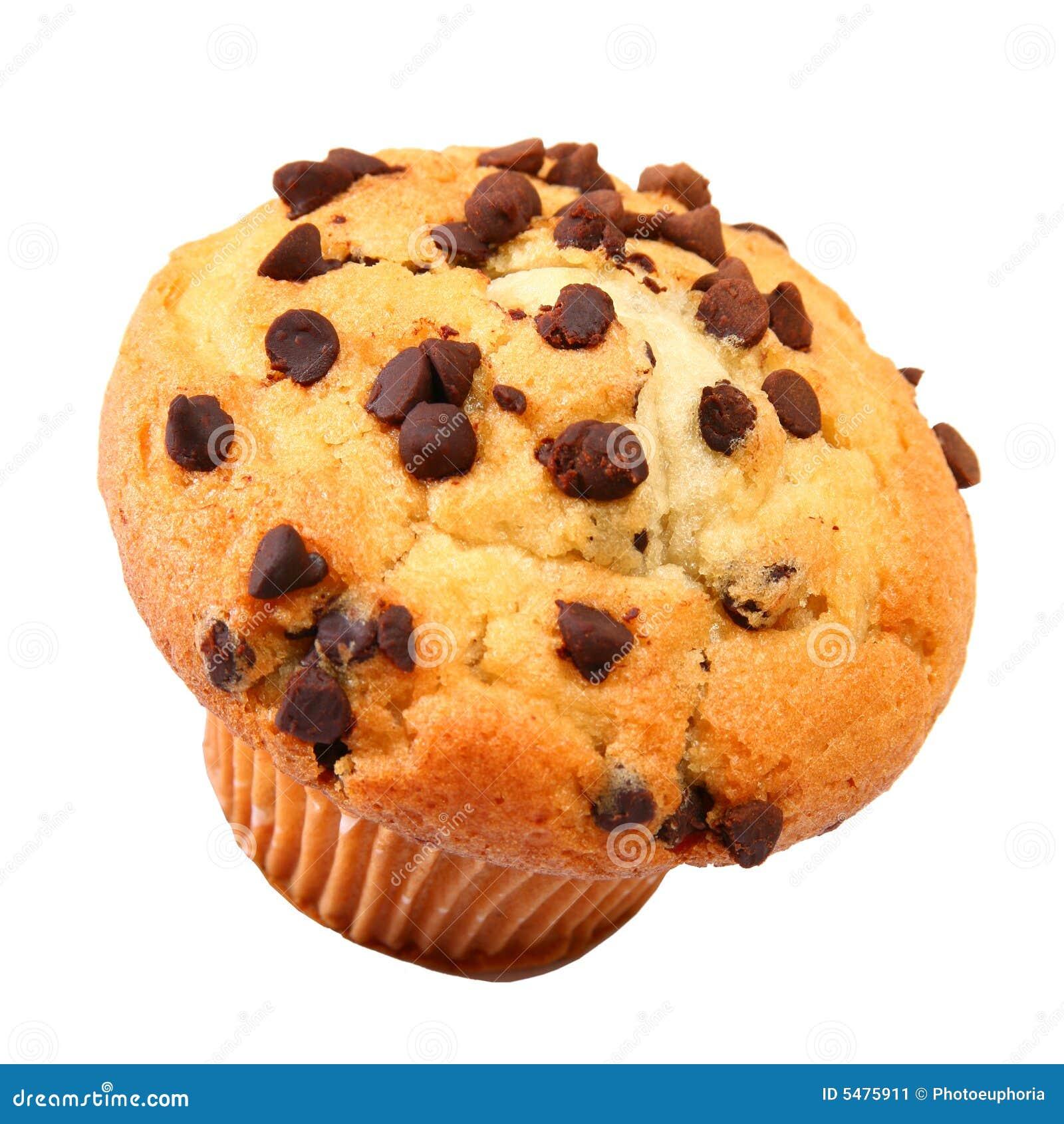 Chocolate Chip Muffin Stock Image Image Of Dessert Chocolate 5475911
