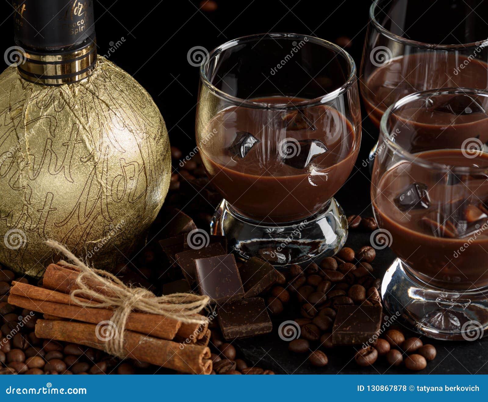 Chocolate and Coffee Cream Liqueur 17%  |Chocolate Coffee Liqueur