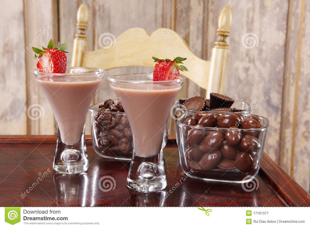 Chocolate cream liquor