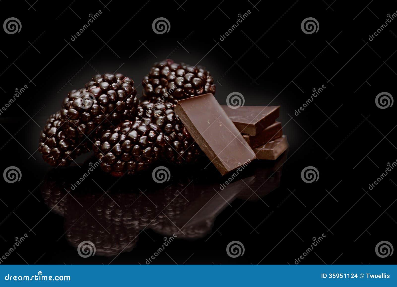 Chocolate de Blackberry