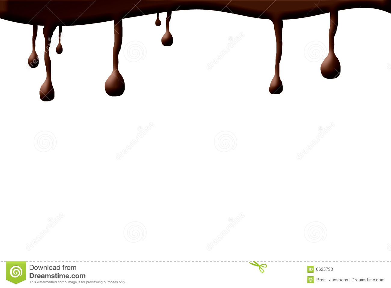 Chocolate Drops Stock Photos - Image: 6625733