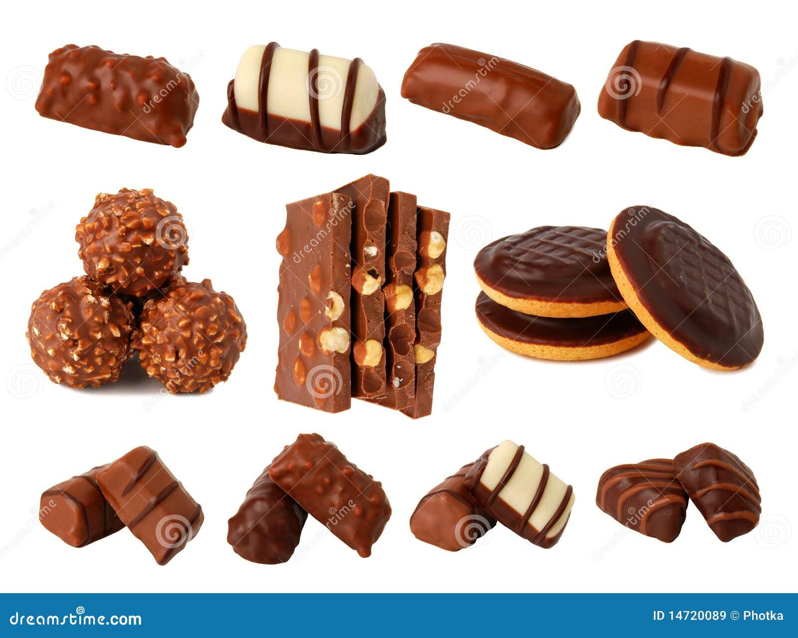 Chocolate e chocolates