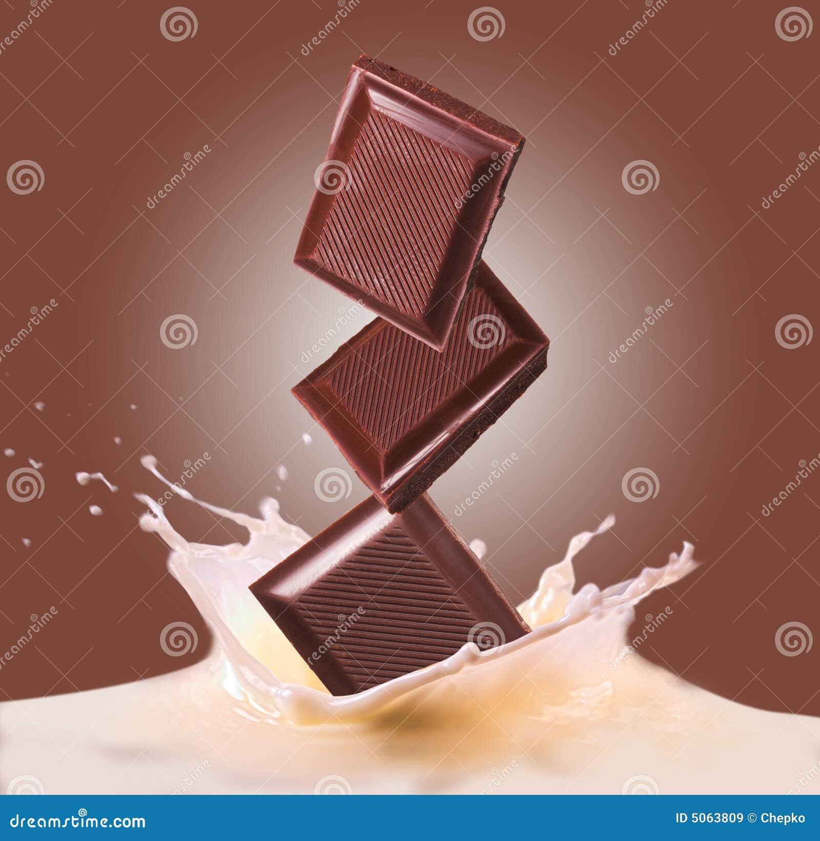 Chocolate e leite